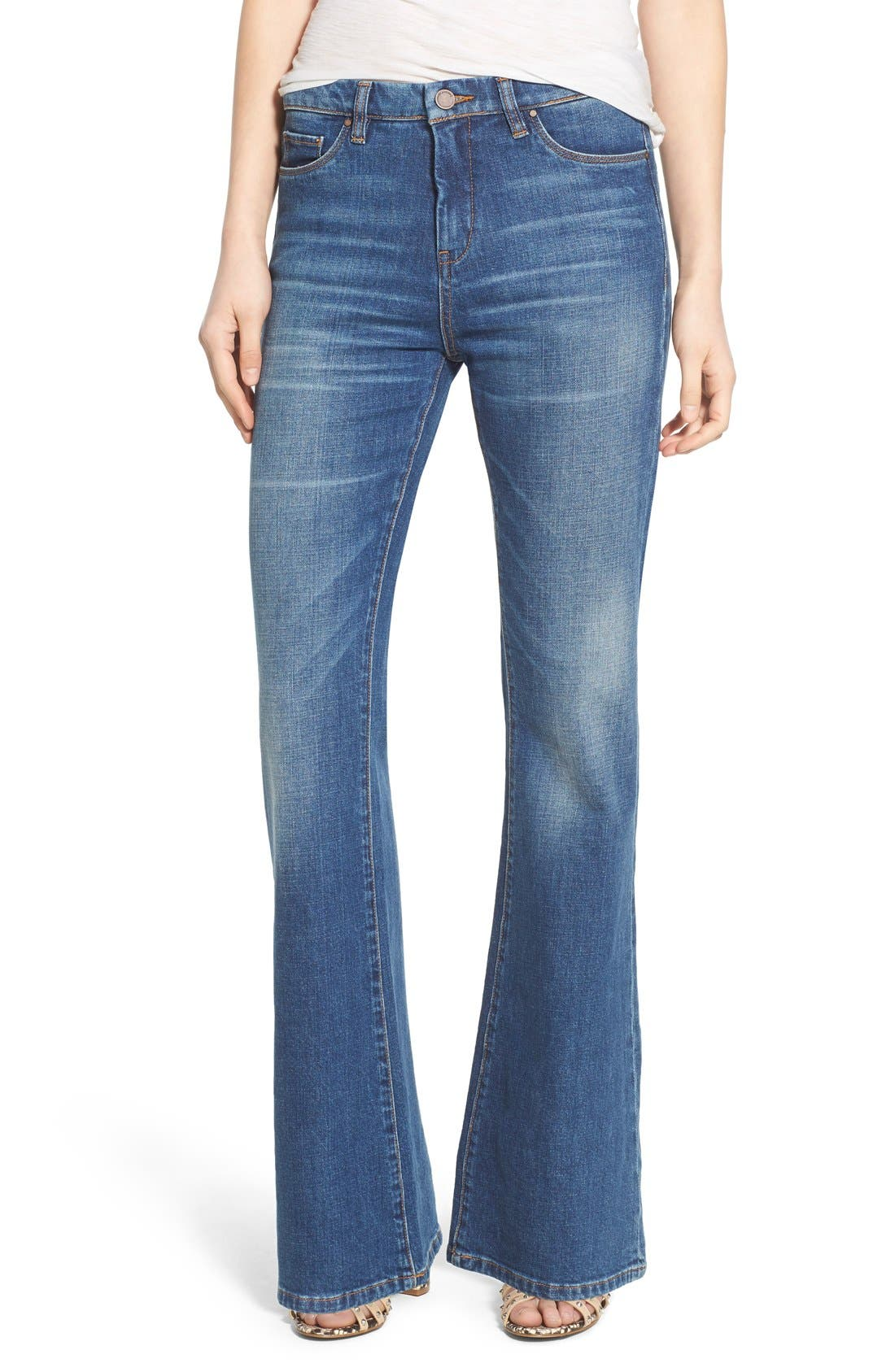 Main Image - BLANKNYC High Rise Flare Jeans (All Day)