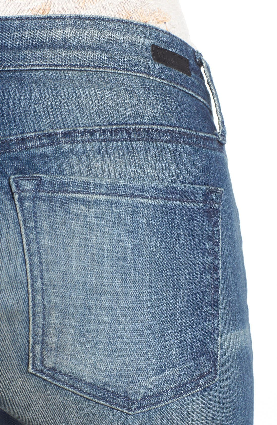 Alternate Image 4  - KUT from the Kloth 'Reese' Crop Flare Leg Jeans (Primo)