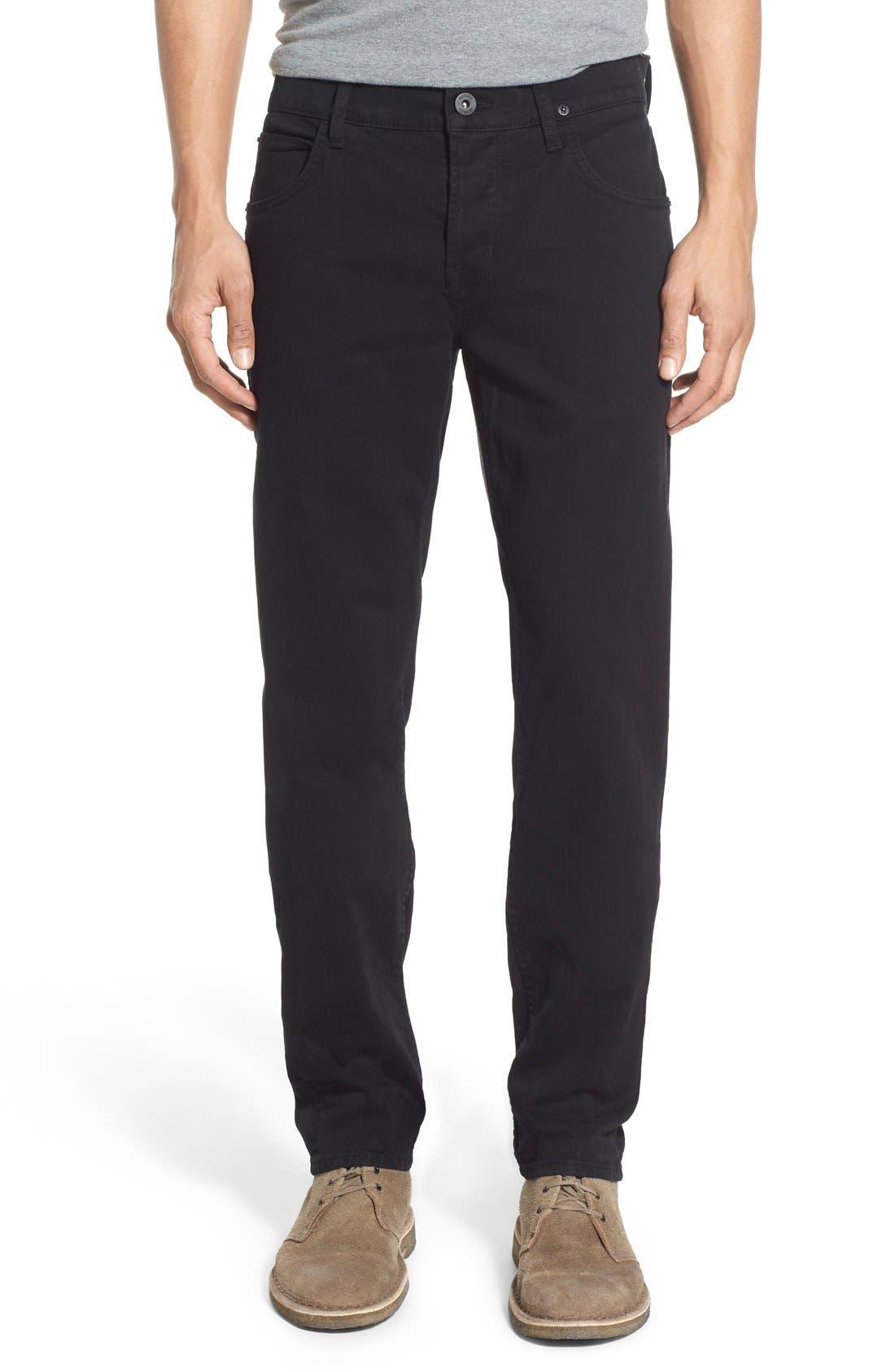Hudson Jeans Blake Slim Fit Jeans (Jet Black)