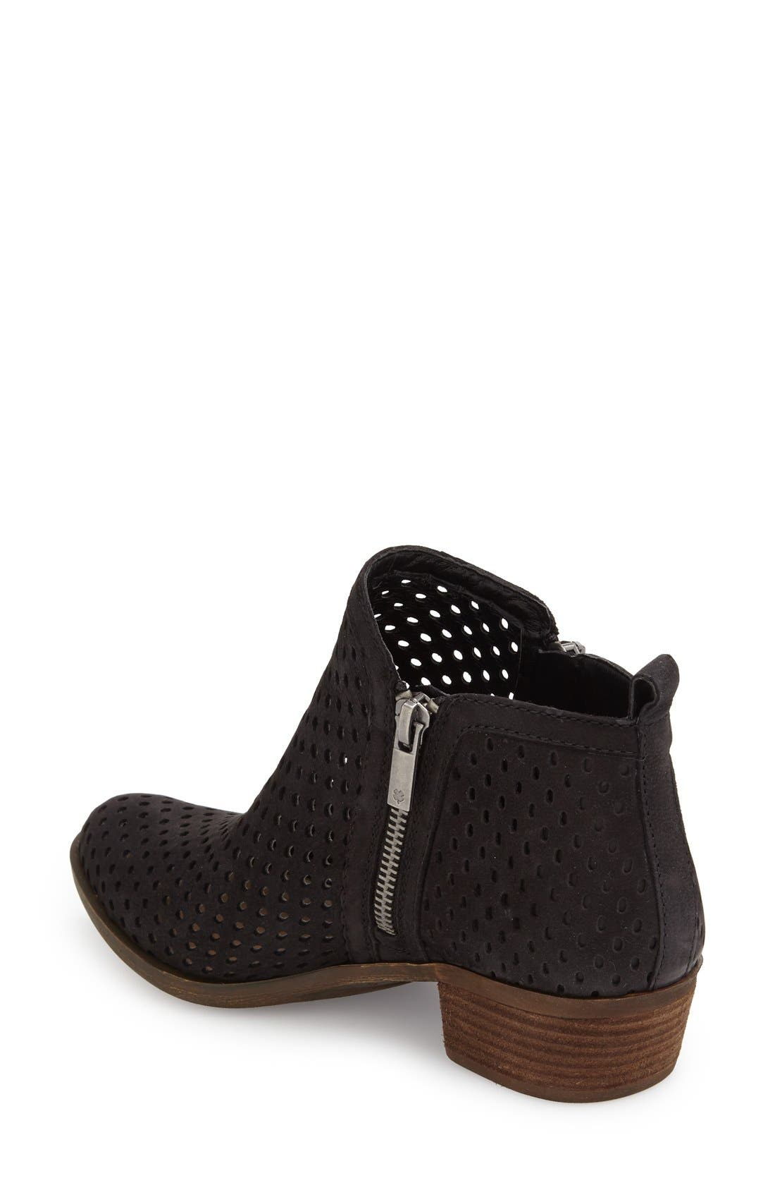Alternate Image 2  - Lucky Brand 'Basel' Perforated Bootie (Women)