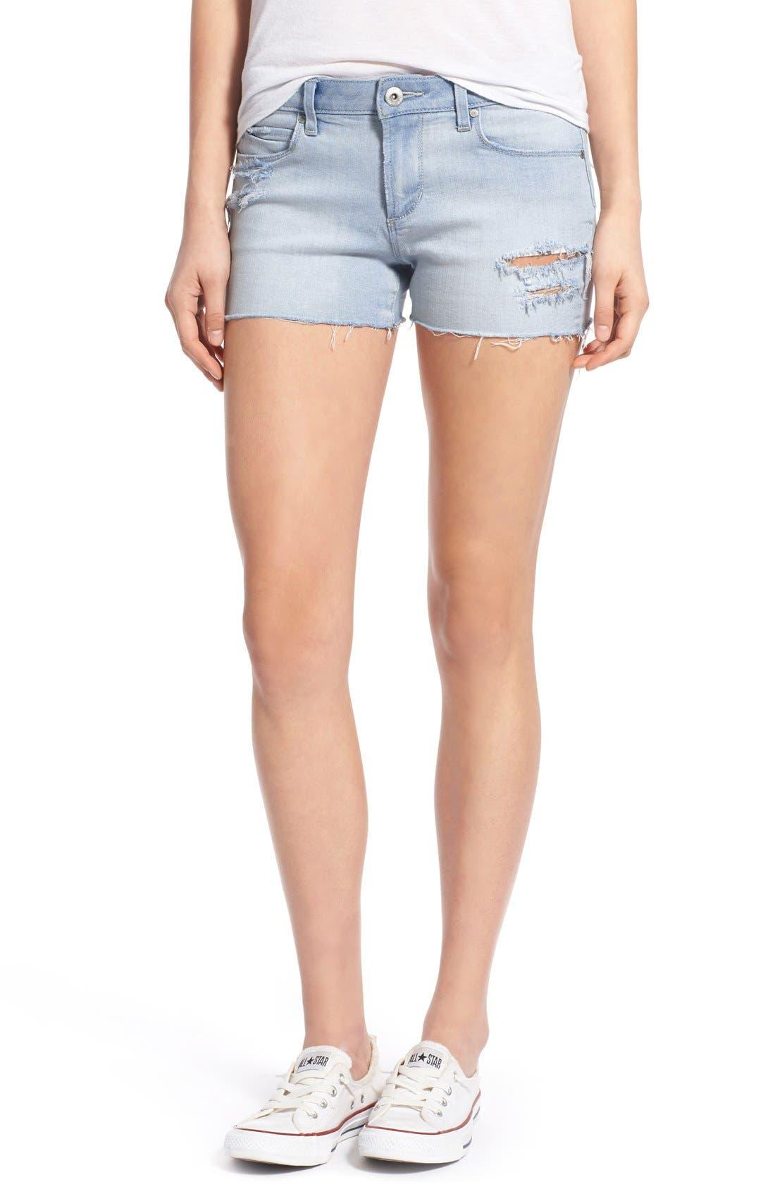 Main Image - Articles of Society 'Madre' Denim Shorts (Cozumel)