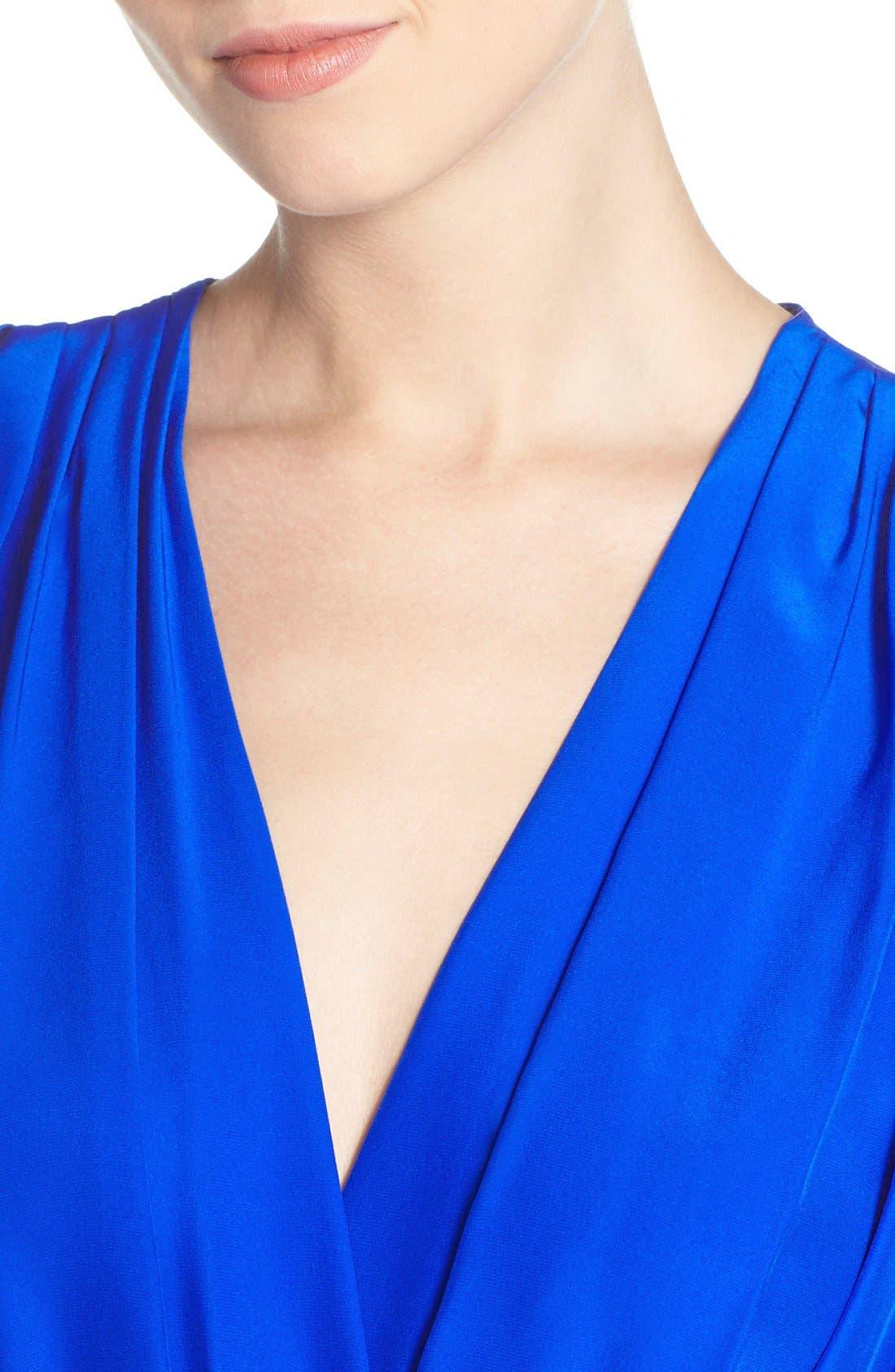 Alternate Image 4  - Amanda Uprichard 'Jessa' Sleeveless Crop Silk Jumpsuit