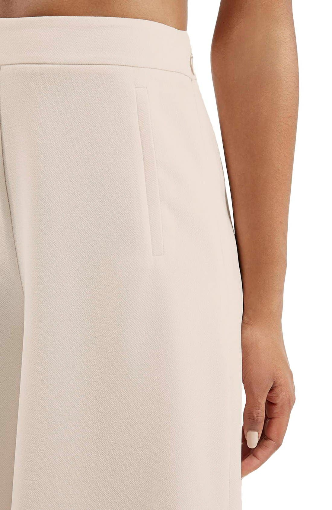 Alternate Image 5  - Topshop Palazzo Trousers