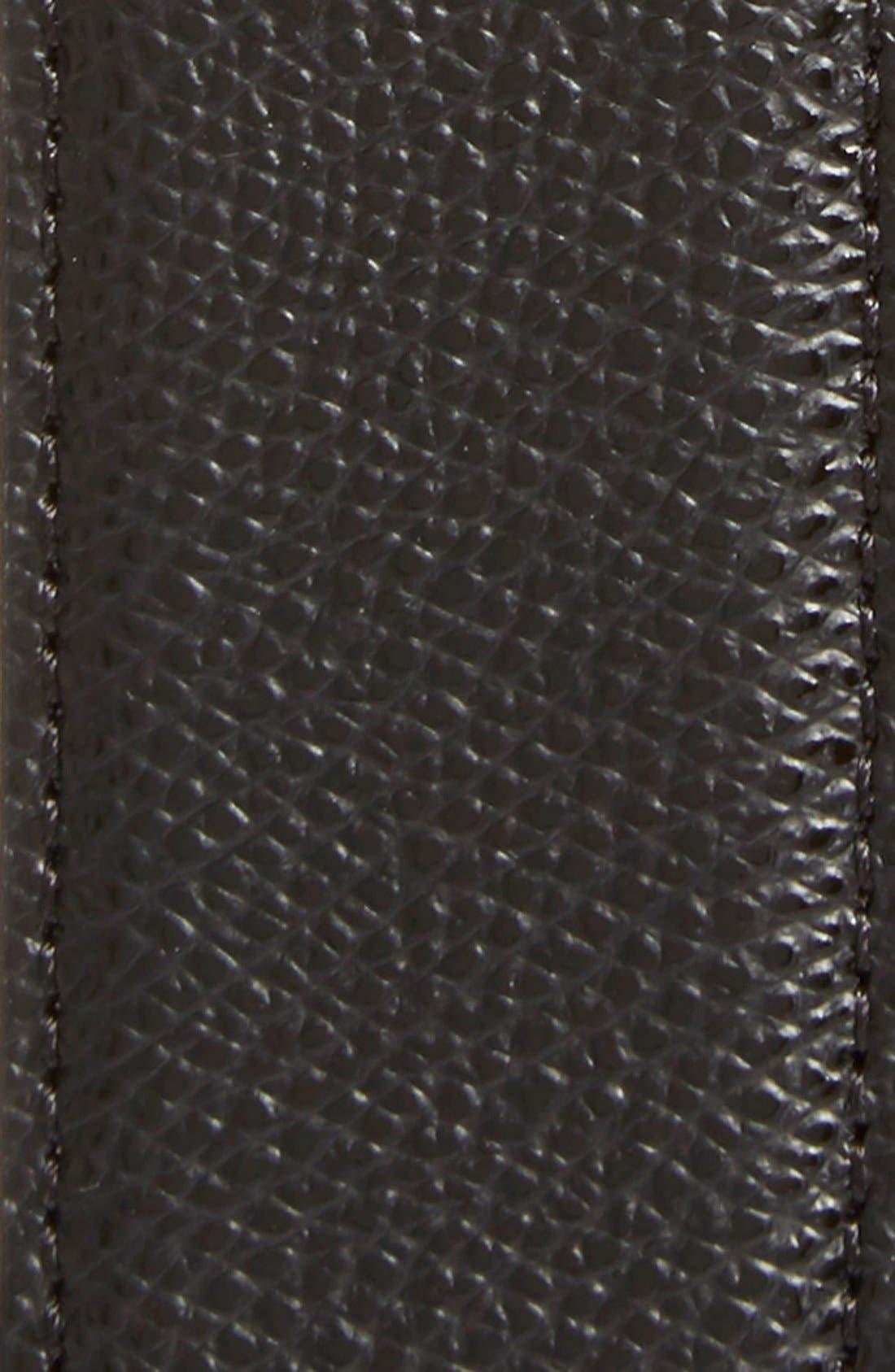Alternate Image 3  - Salvatore Ferragamo Reversible Pebbled Leather Belt