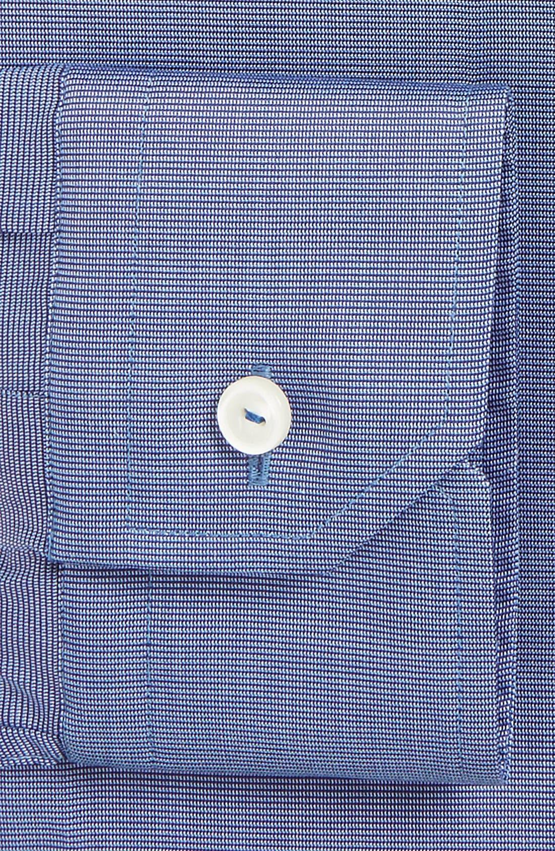 Alternate Image 4  - Eton Slim Fit Solid Dress Shirt