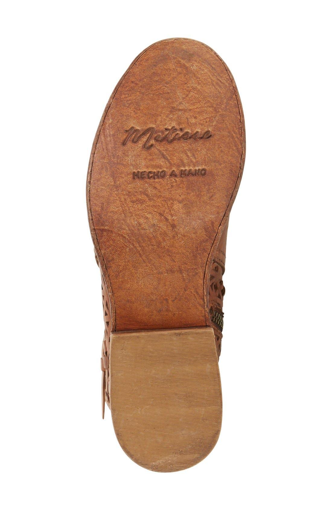 Alternate Image 4  - Matisse 'National' Perforated Moto Boot (Women)