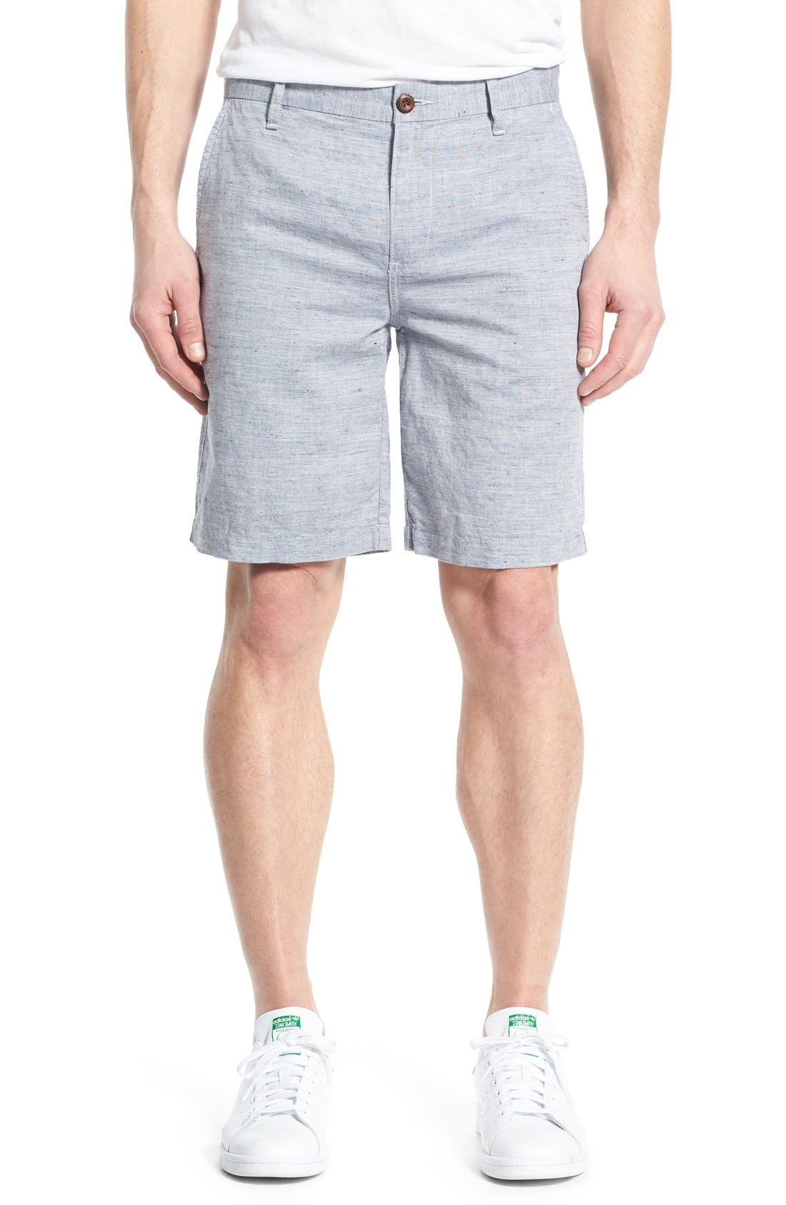 PAIGE 'Thompson' Slim Fit Shorts