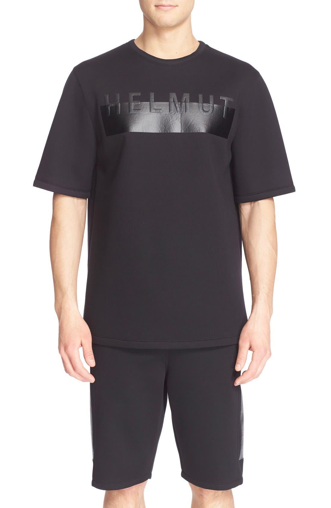 Alternate Image 1 Selected - Helmut Lang Oversize Logo T-Shirt
