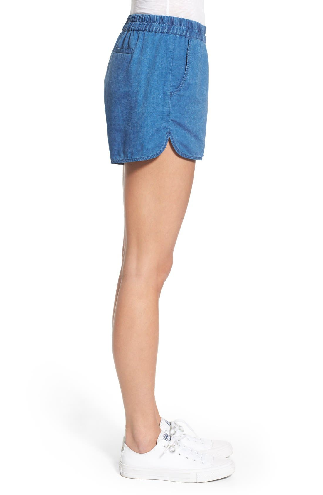 Alternate Image 3  - Madewell Linen & Cotton Pull-On Shorts