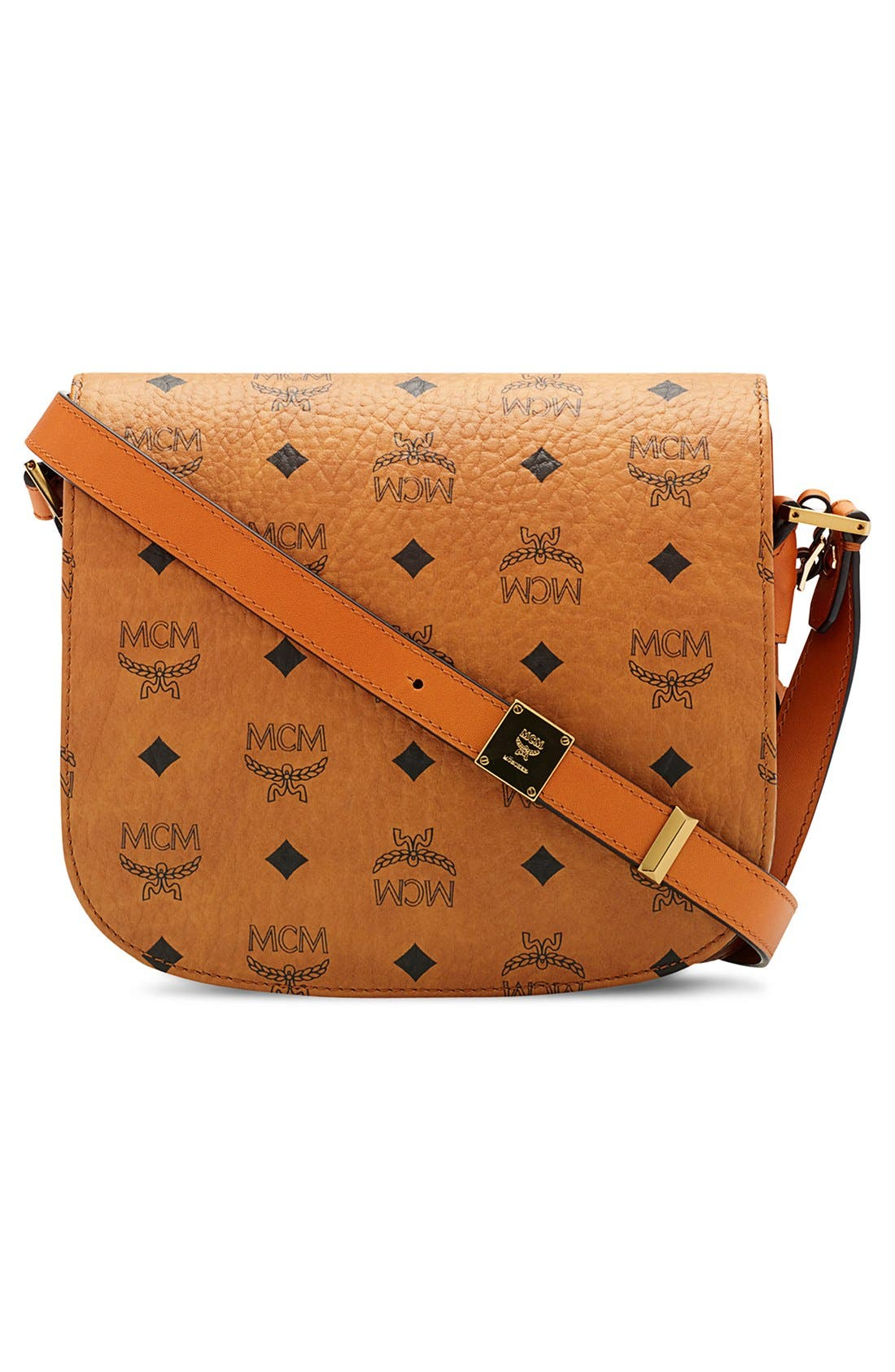 Alternate Image 3  - MCM 'Small Patricia' Visetos Coated Canvas Crossbody Bag