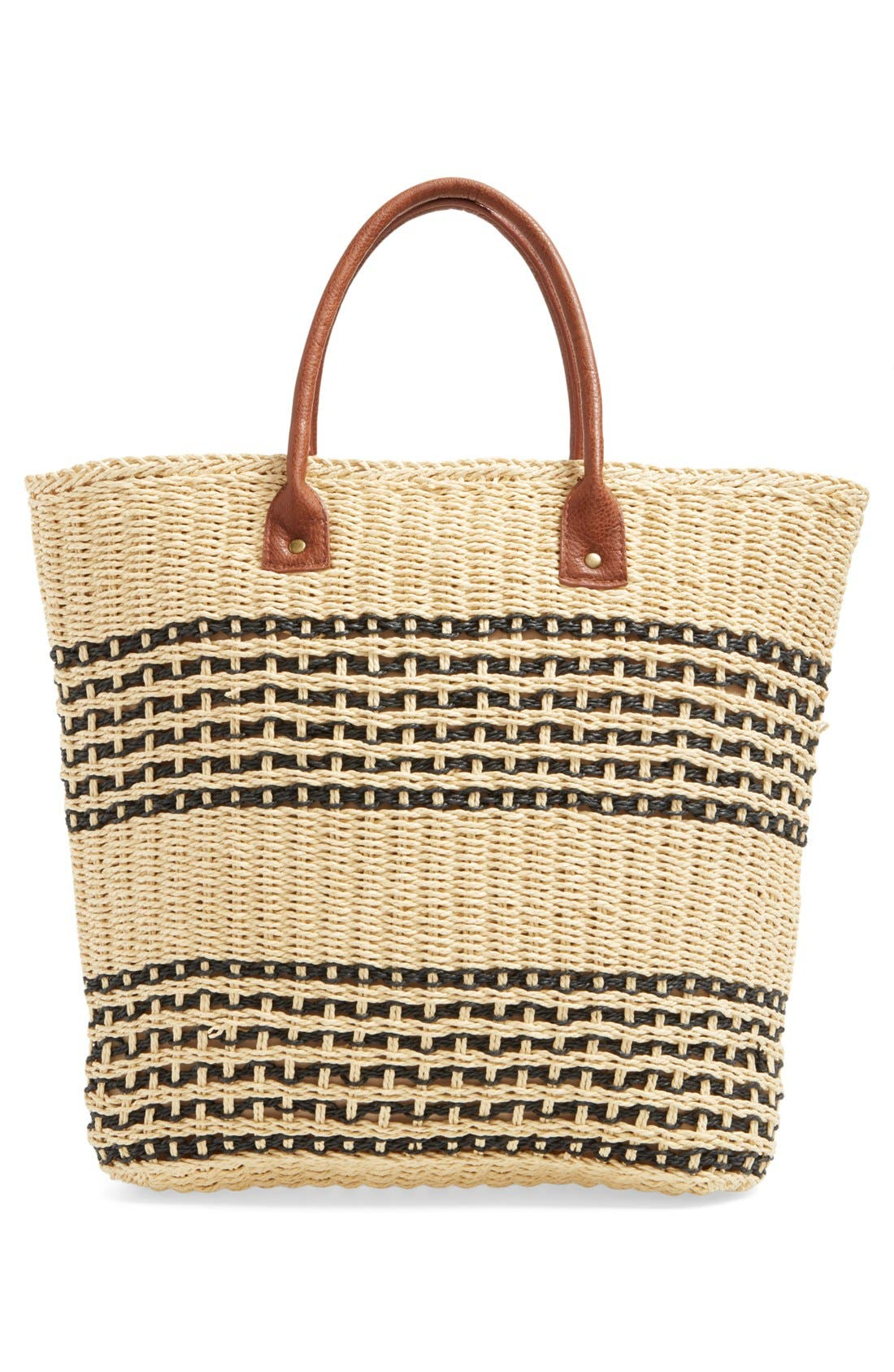 Alternate Image 3  - San Diego Hat Stripe Straw Tote