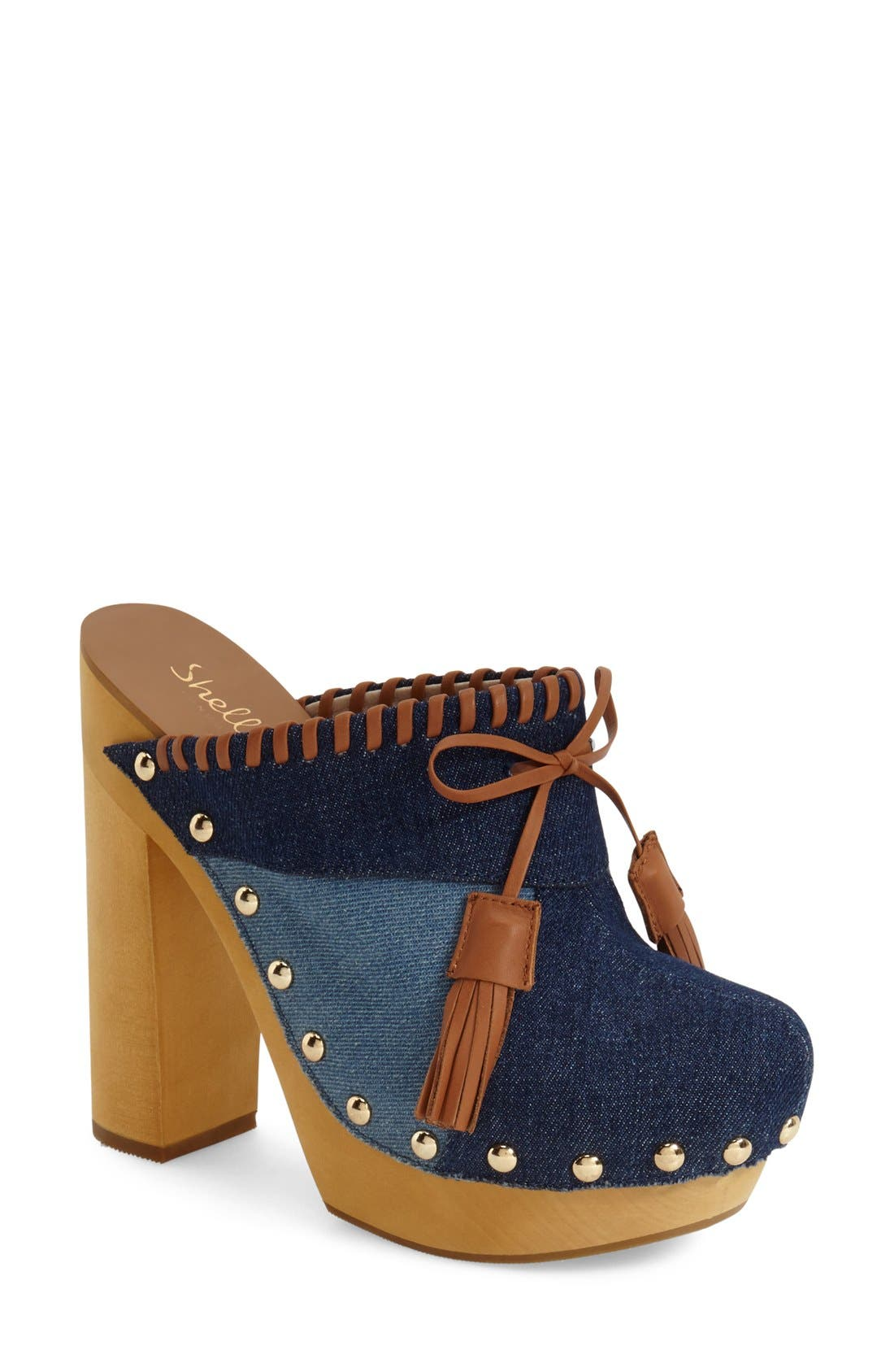 Alternate Image 1 Selected - Shellys London 'Kennedy' Patchwork Clog (Women)