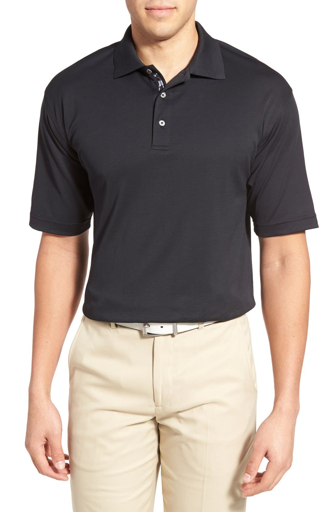 Bobby Jones Solid Pima Cotton Jersey Polo