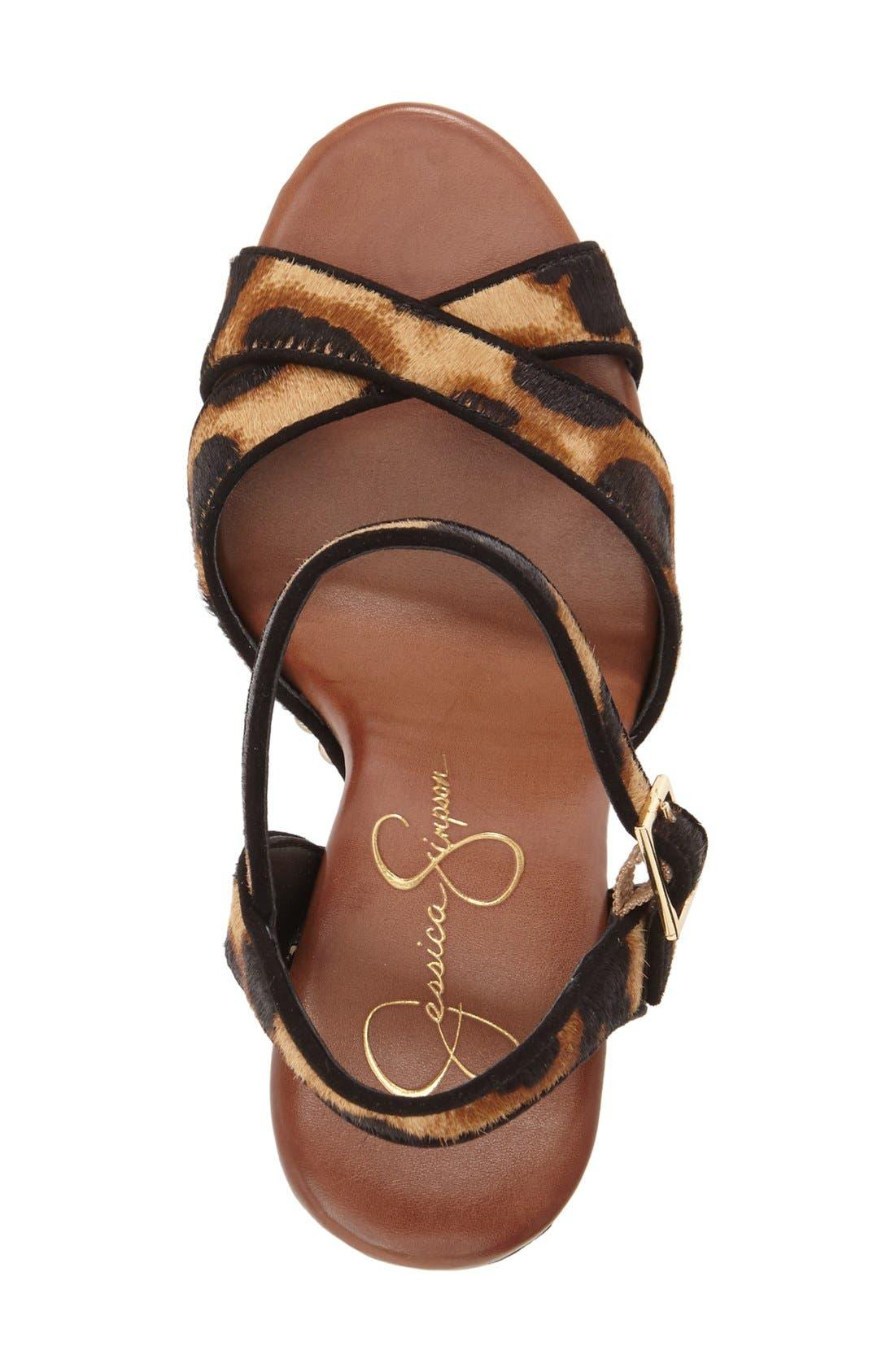 Alternate Image 3  - Jessica Simpson 'Faraday' Platform Sandal (Women)
