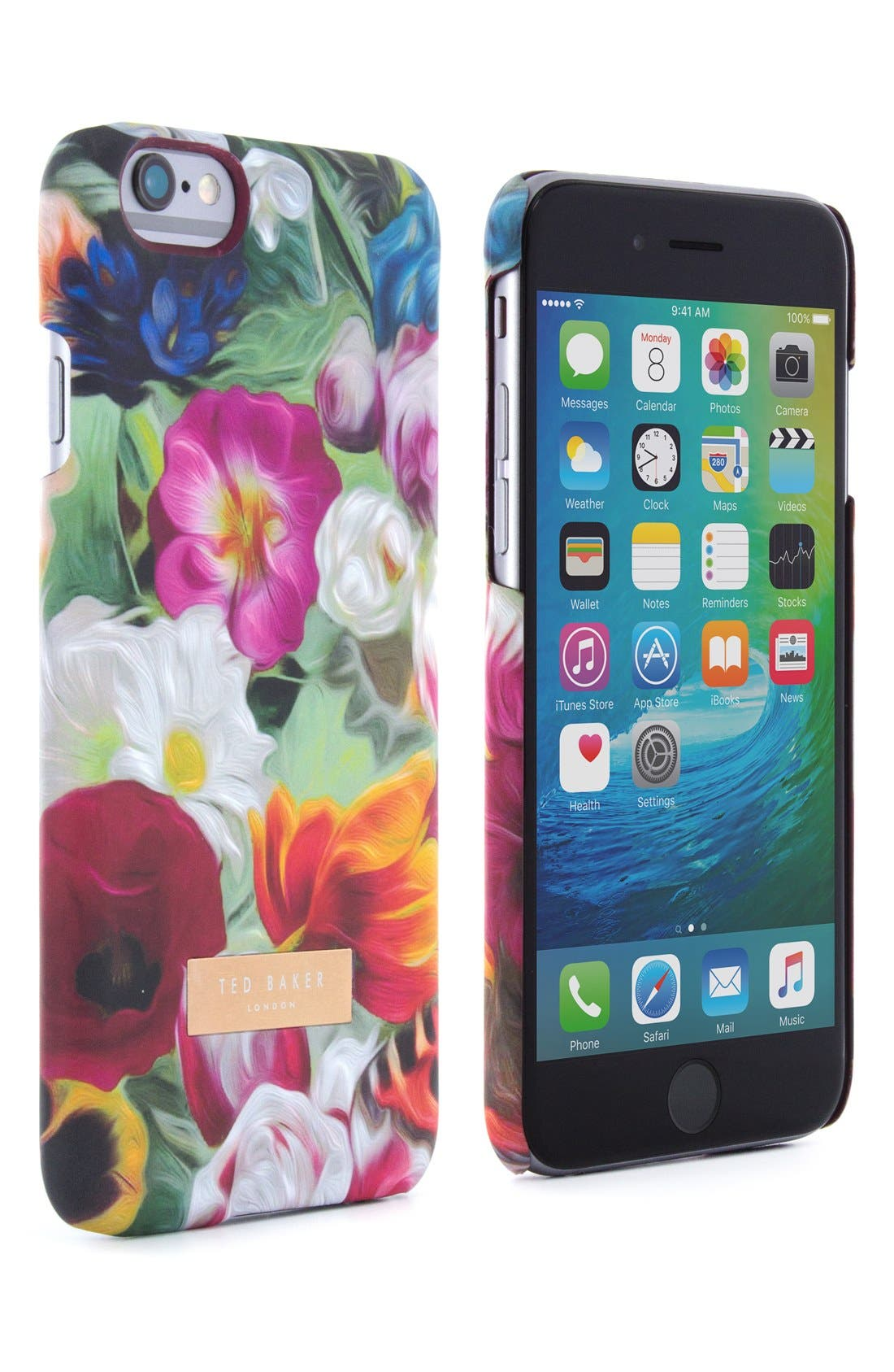 Alternate Image 6  - Ted Baker London iPhone Floral Swirl 6/6s Case
