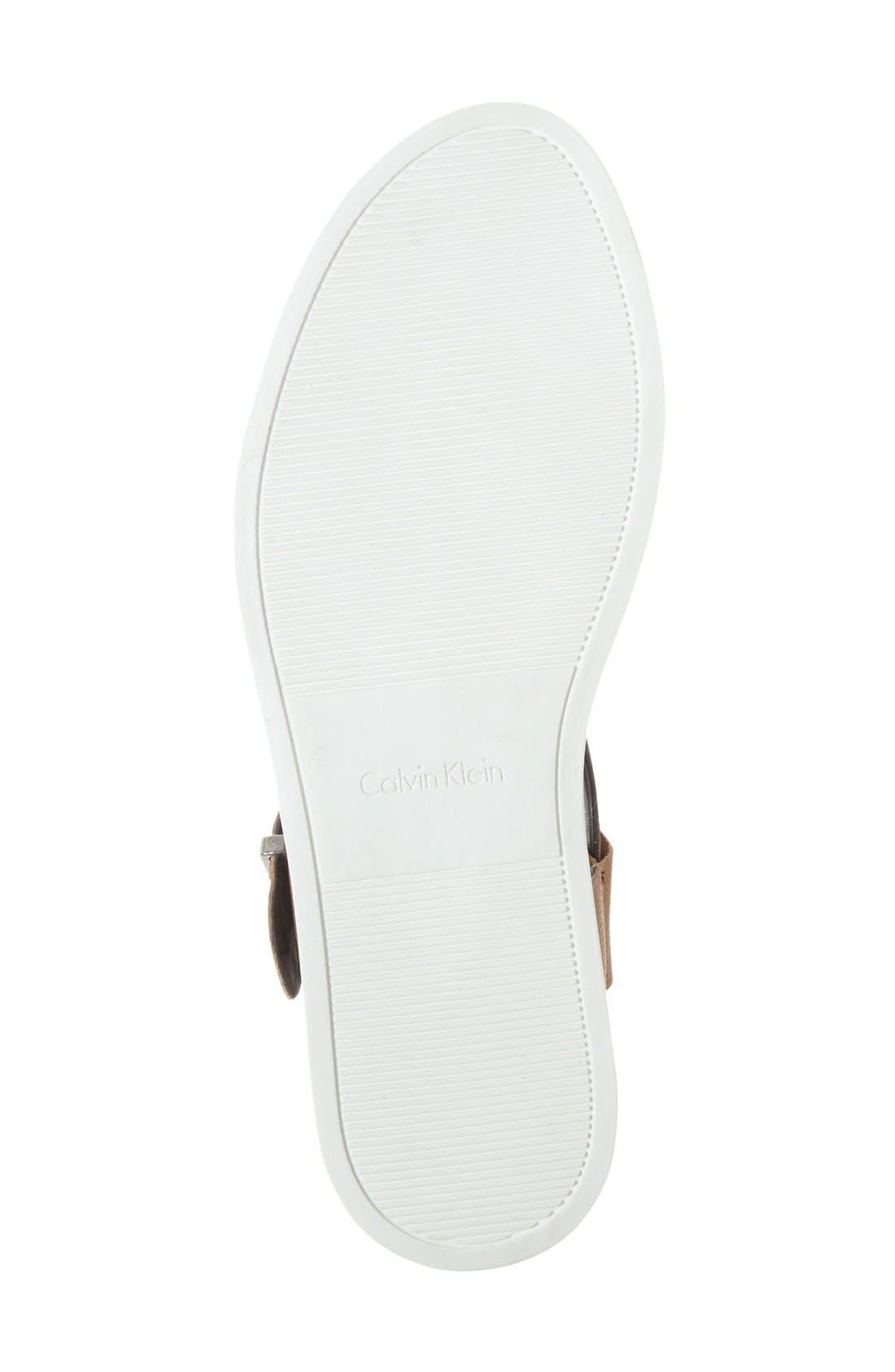 Alternate Image 4  - Calvin Klein 'Cadan' Demi Wedge Sandal (Women)