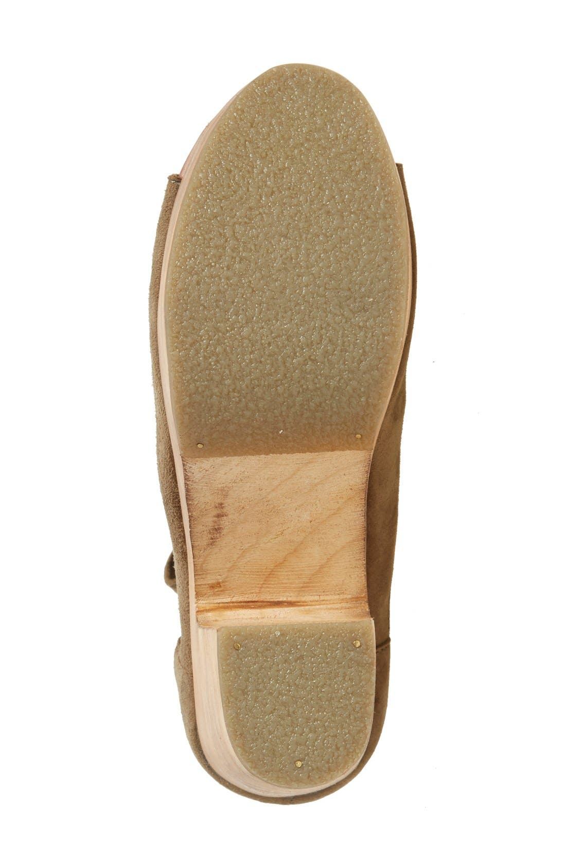 Alternate Image 4  - Free People 'Touch the Sky' Wrap Platform Clog Sandal (Women)