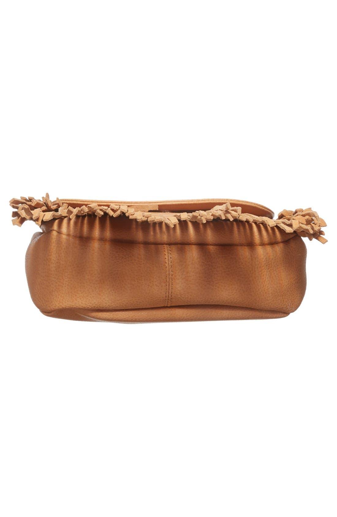 Alternate Image 6  - Sole Society 'Kerry' Fringe Faux Leather Crossbody Bag