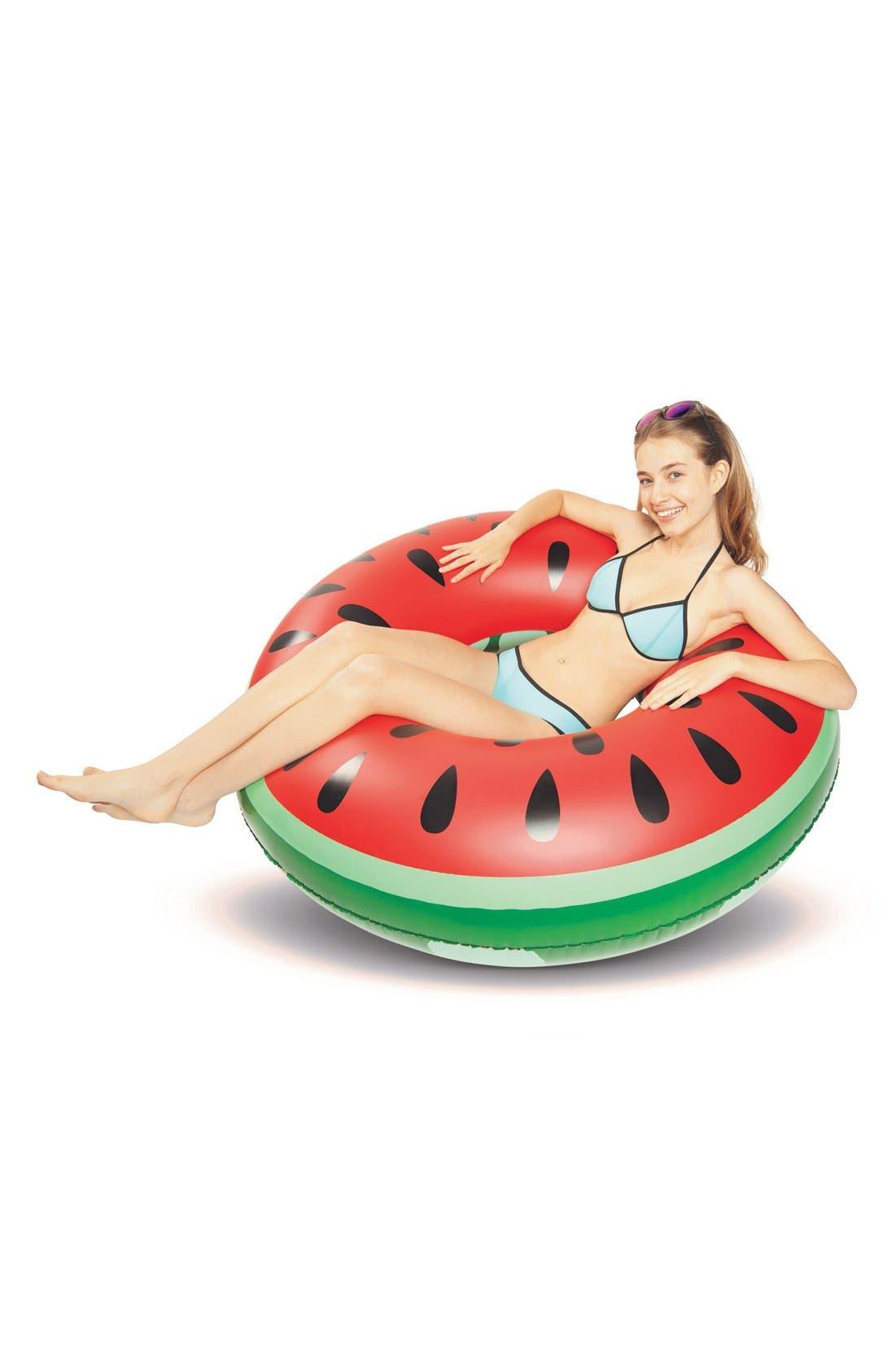 Alternate Image 2  - BigMouth Inc. Giant Watermelon Slice Pool Floatie