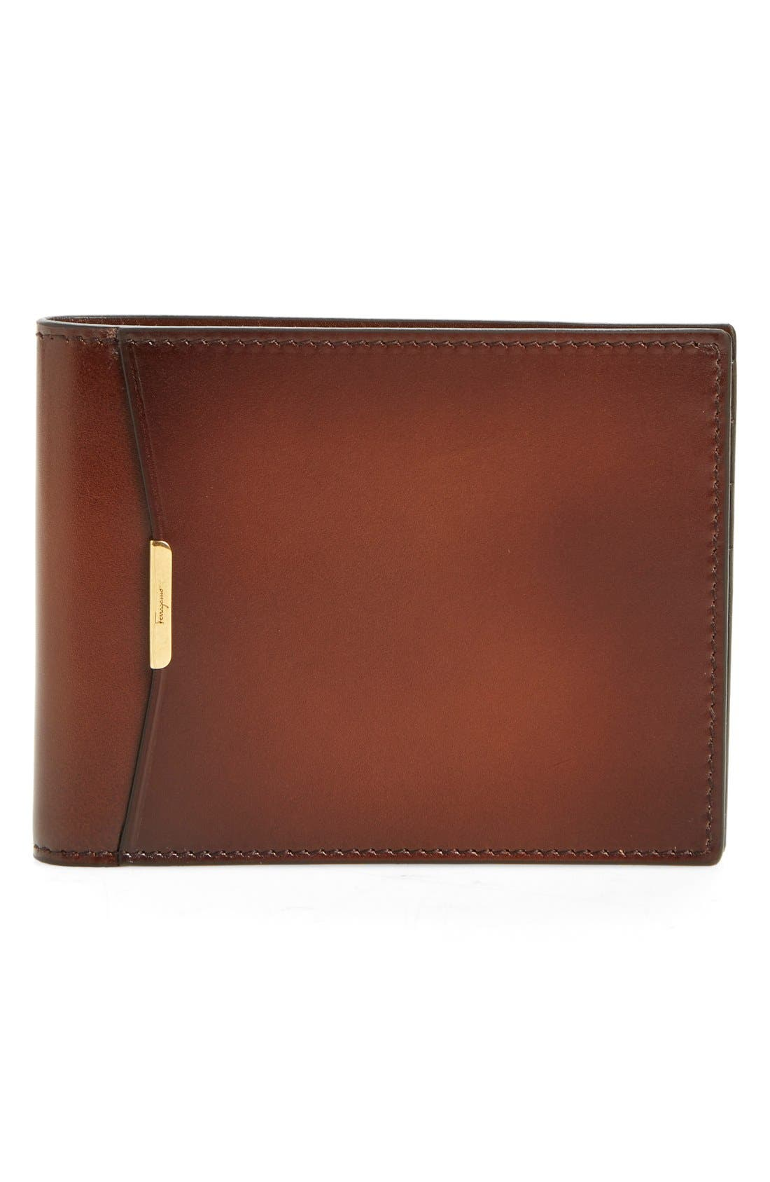 Alternate Image 1 Selected - Salvatore Ferragamo Bifold Leather Wallet