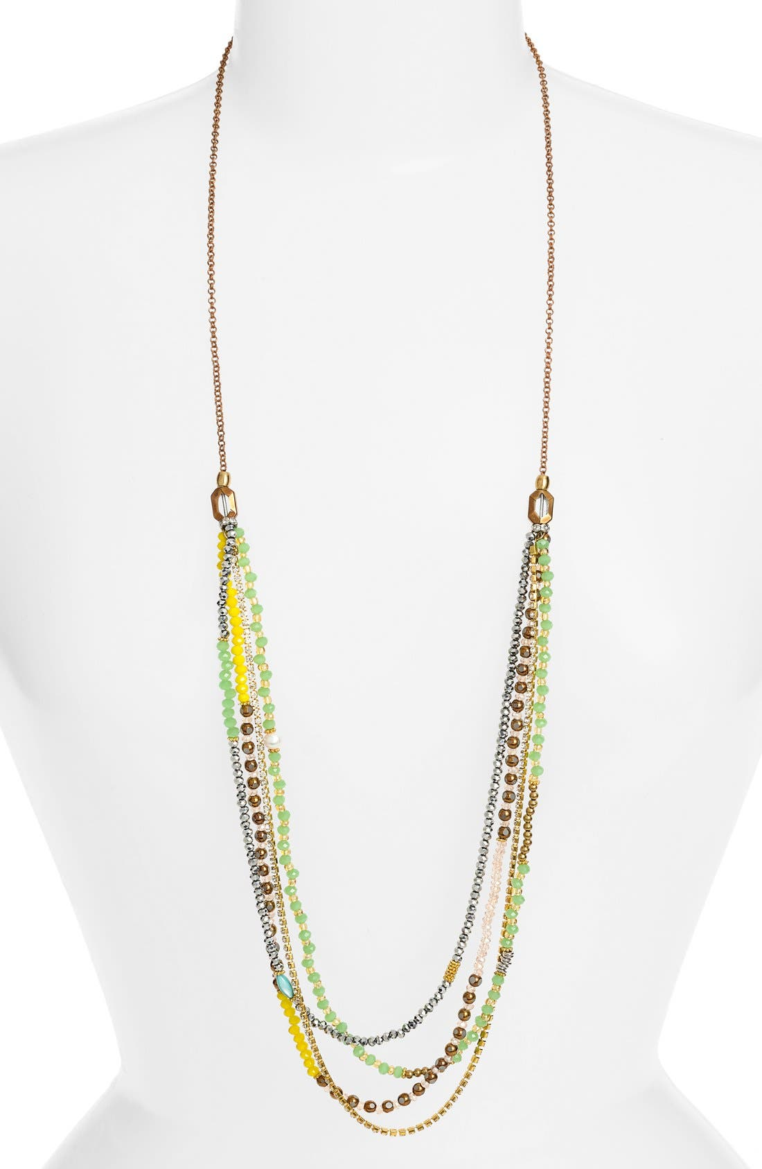 ELISE M. 'Delhine' Layered Strand Necklace