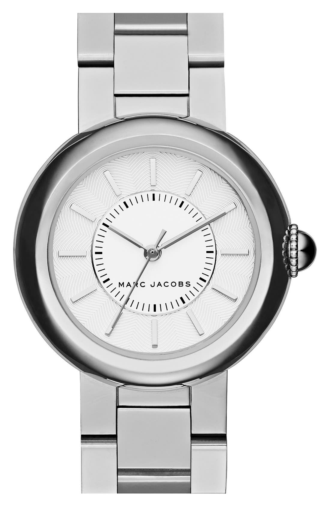 MARC JACOBS 'Courtney' Bracelet Watch, 34mm