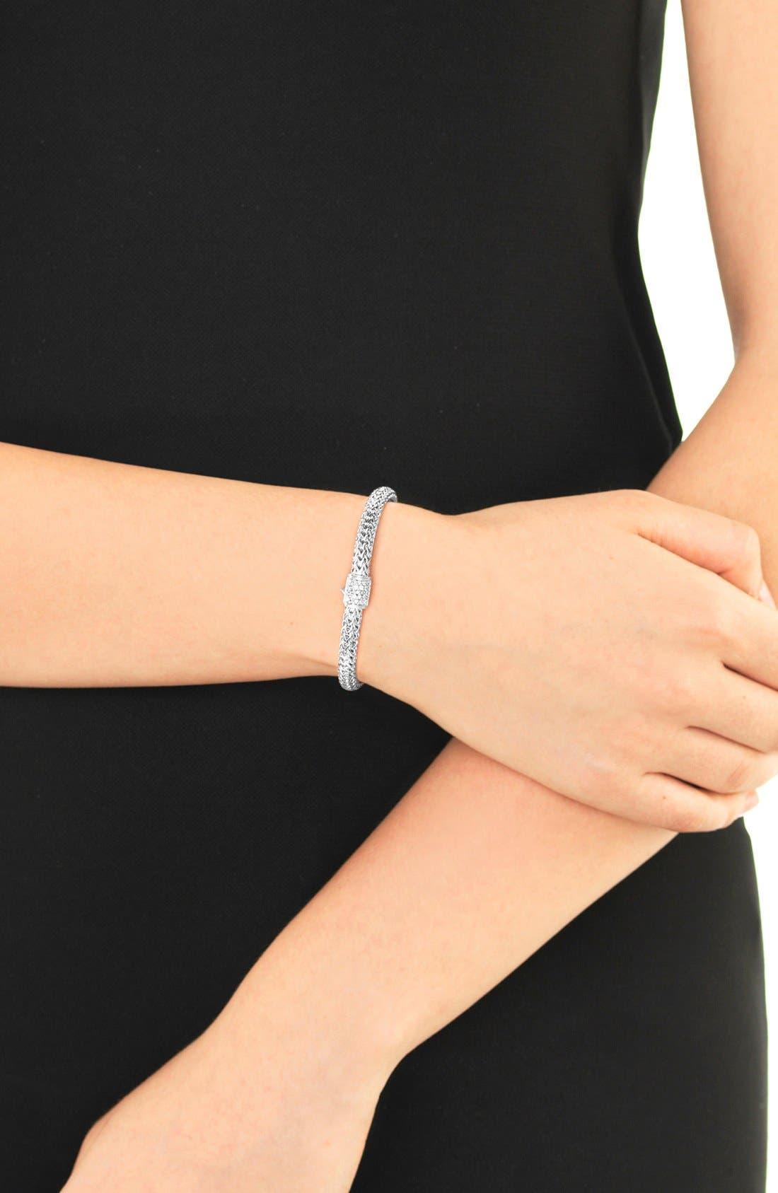 Alternate Image 3  - John Hardy Extra Small Chain Bracelet with Diamond Clasp