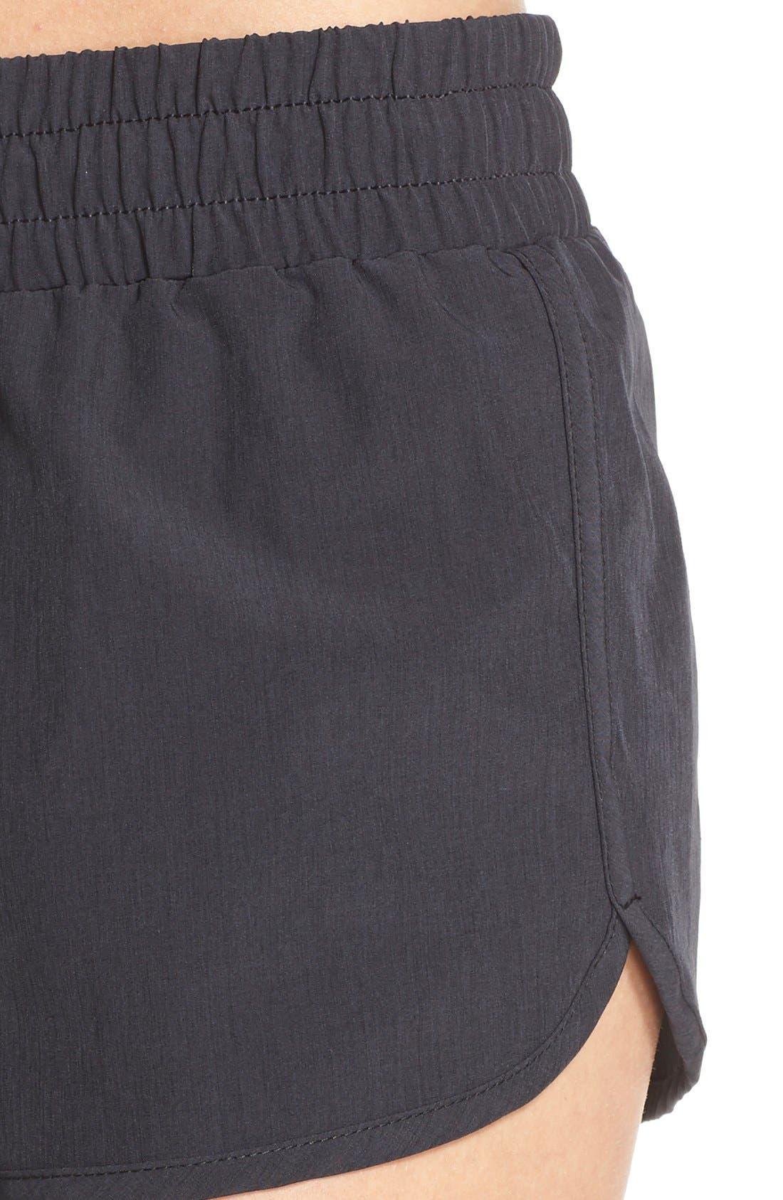 Alternate Image 4  - Zella 'Block & Roll' Board Shorts