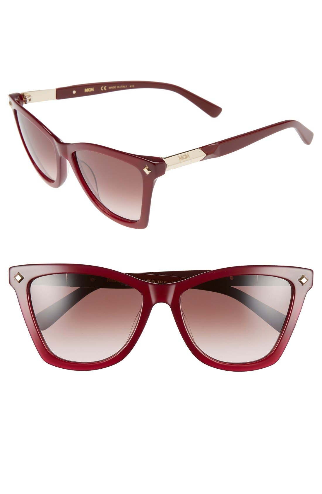 MCM 57mm Retro Sunglasses