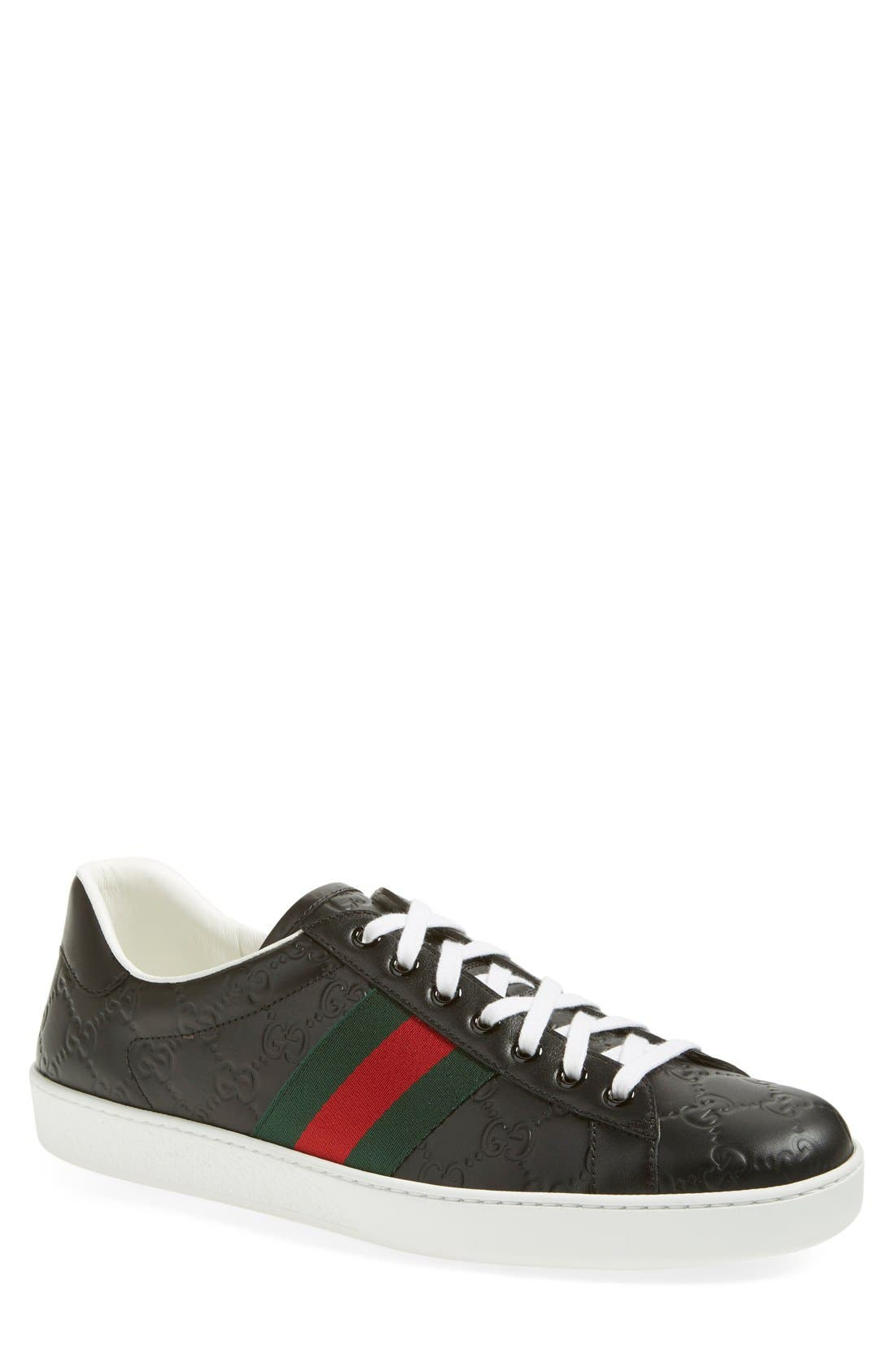 Gucci 'New Ace' Sneaker (Men)
