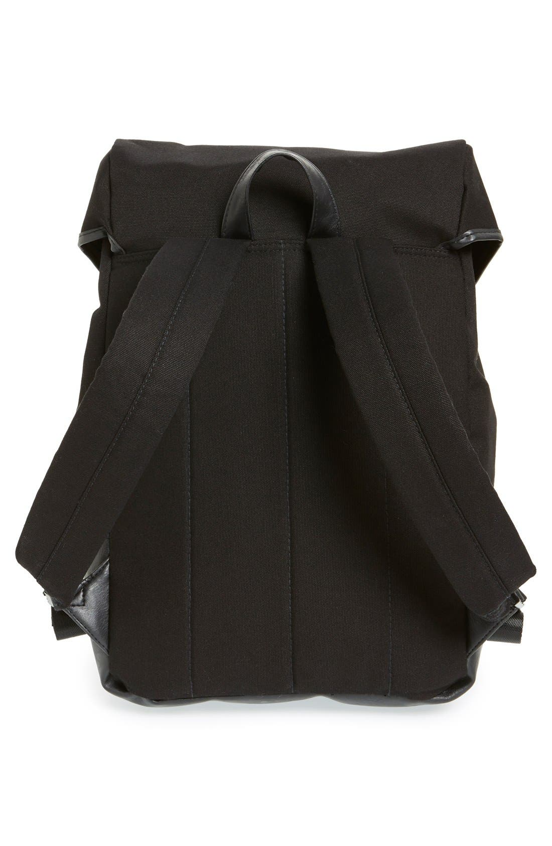 Alternate Image 3  - Topman Canvas Backpack