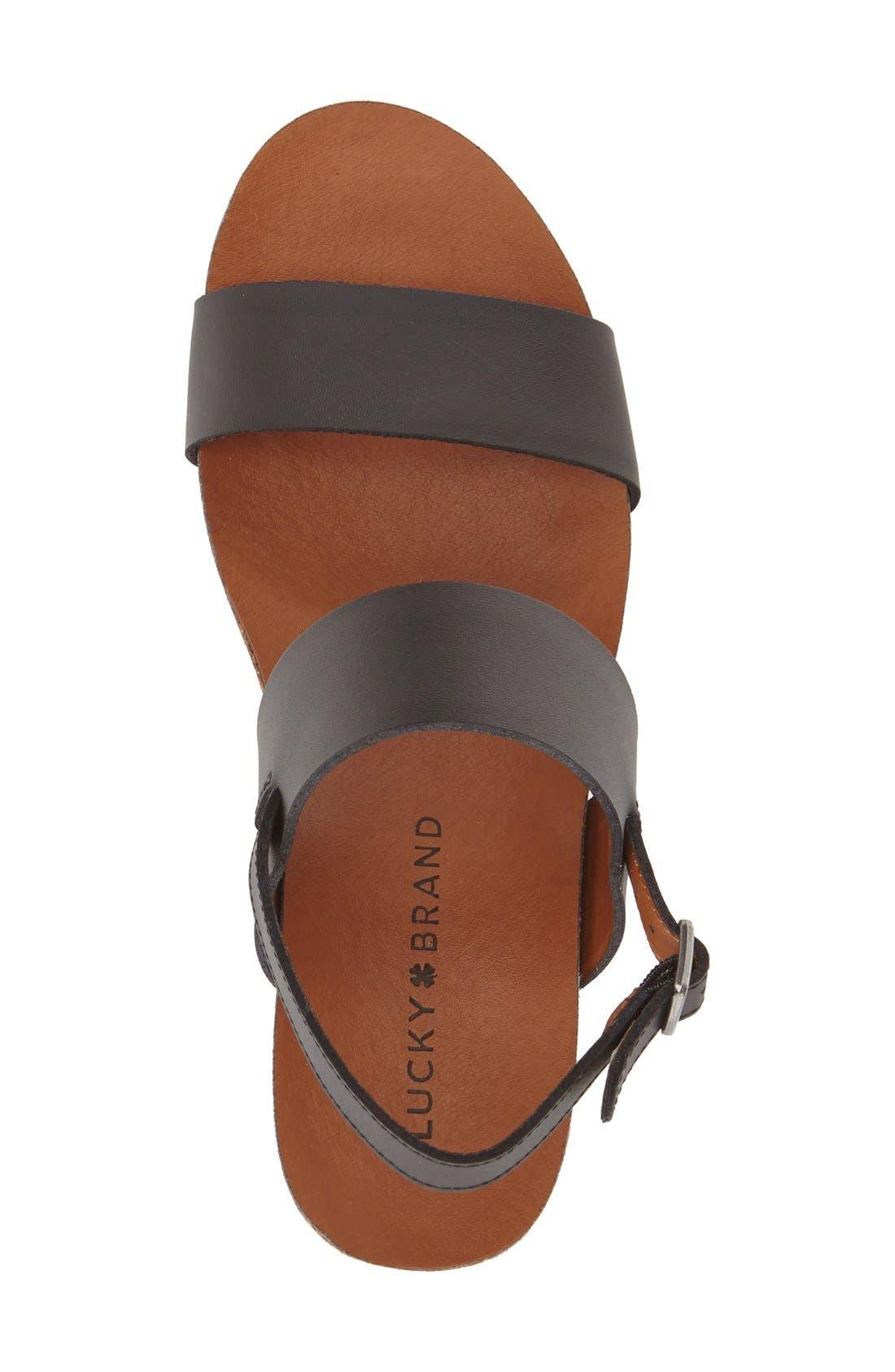 Alternate Image 3  - Lucky Brand 'Jette' Wedge Sandal (Women)