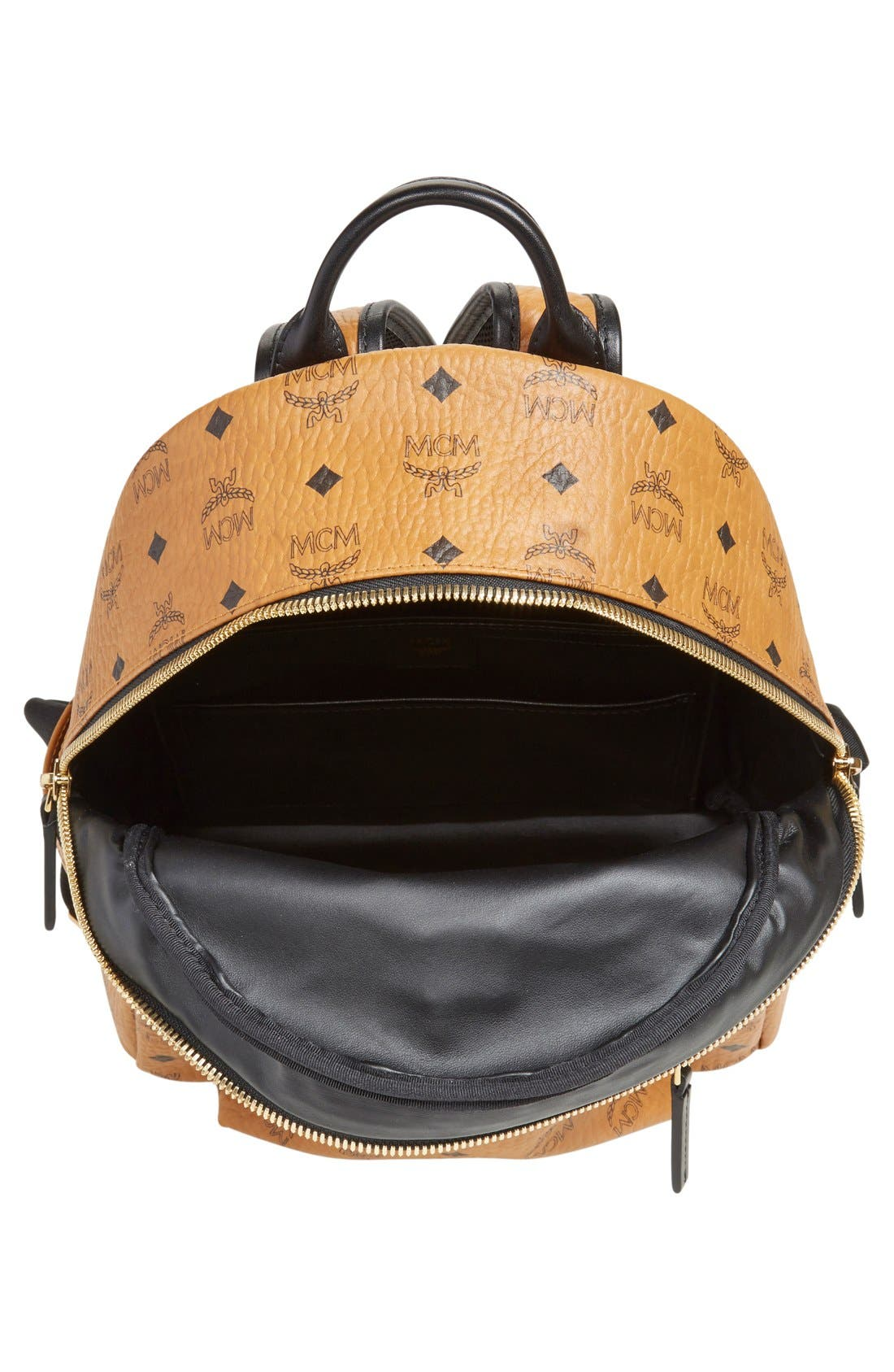 Alternate Image 4  - MCM Backpack 'Small Stark' Coated Canvas Backpack (Nordstrom Exclusive)