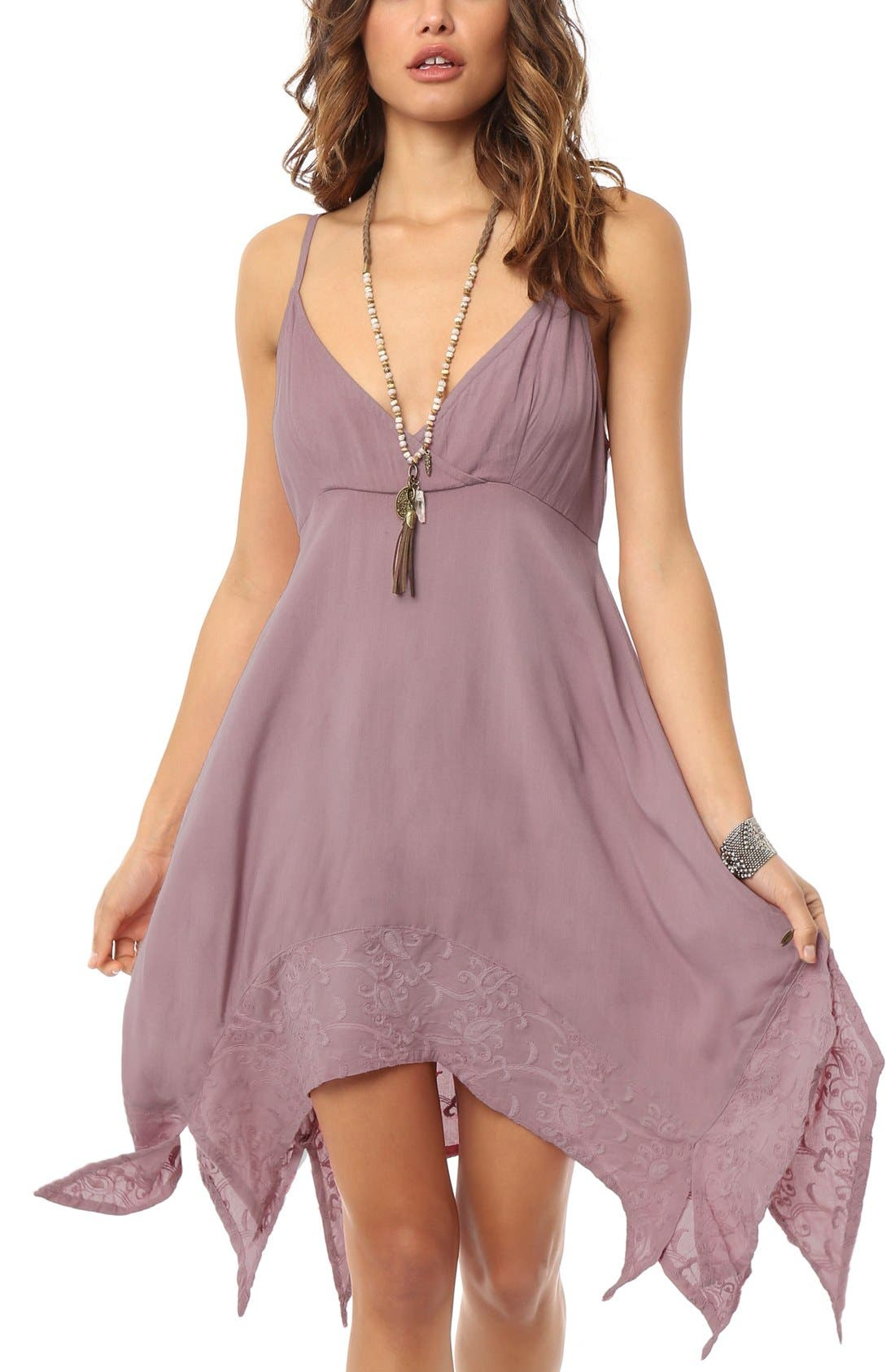 Alternate Image 1 Selected - O'Neill 'Jillian' Embroidered Dress