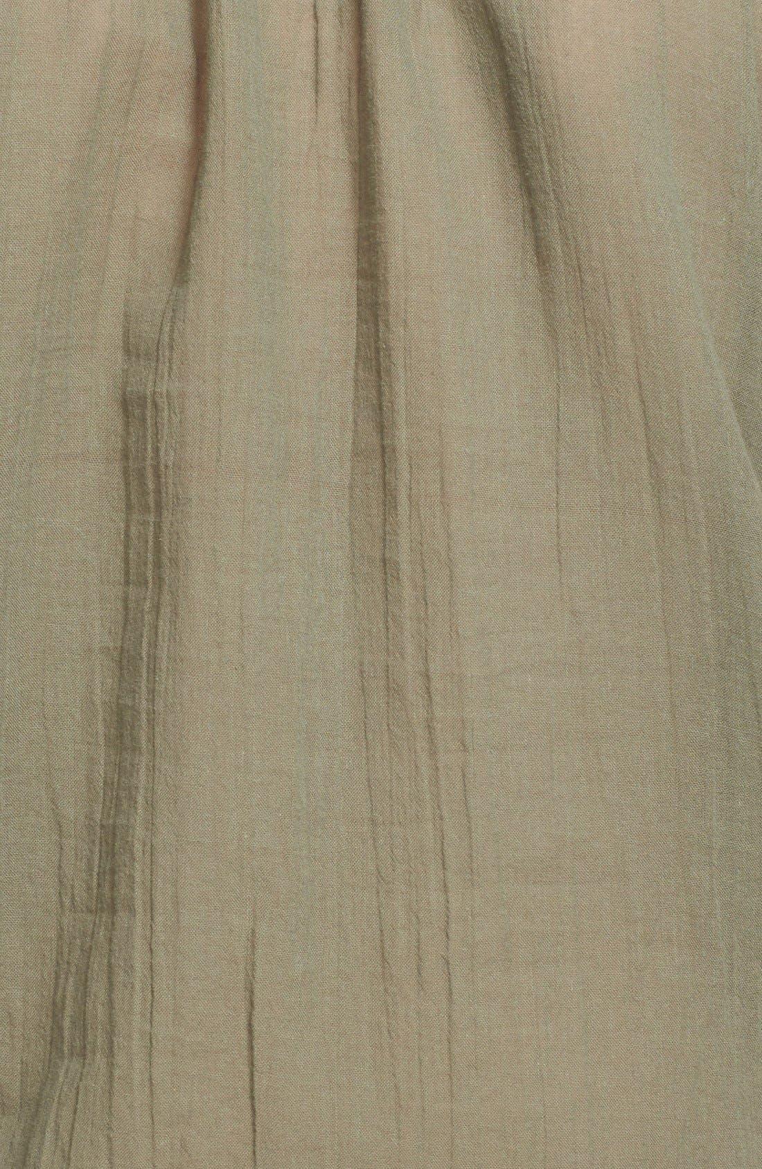 Alternate Image 5  - Joie 'Feray' Split Neck Embroidered Cotton Top