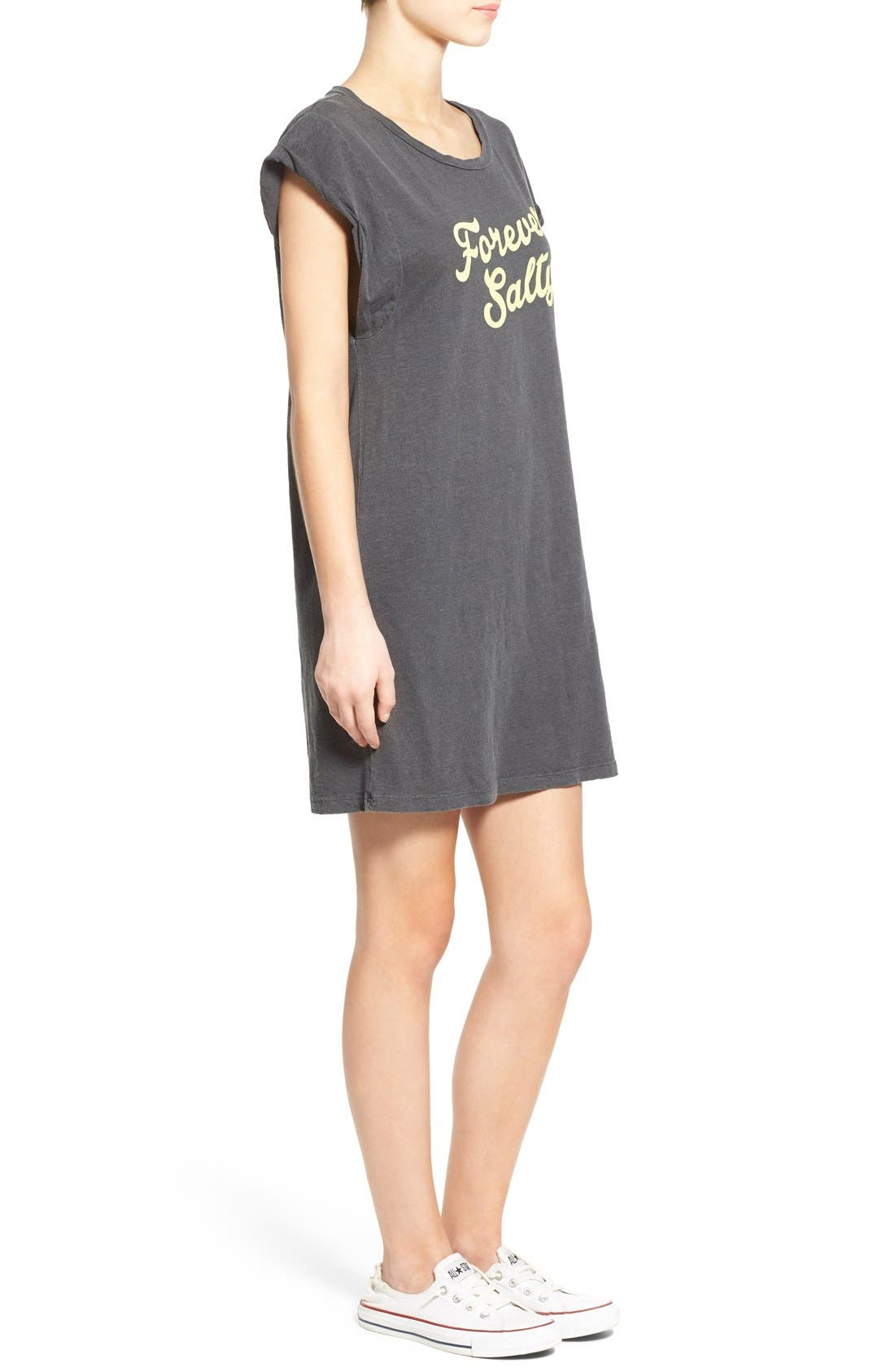 Alternate Image 3  - Billabong 'Forever Salty' Graphic T-Shirt Dress
