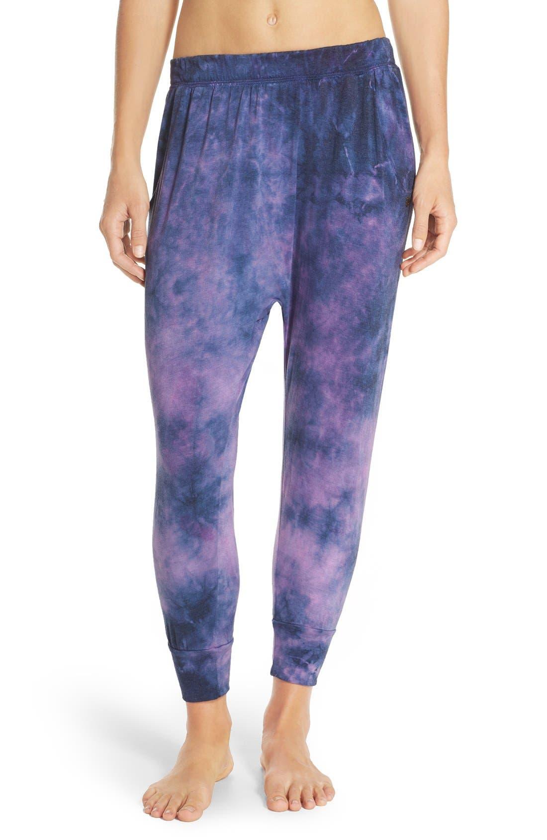 Alternate Image 1 Selected - Spiritual Gangster Tie Dye Harem Pants