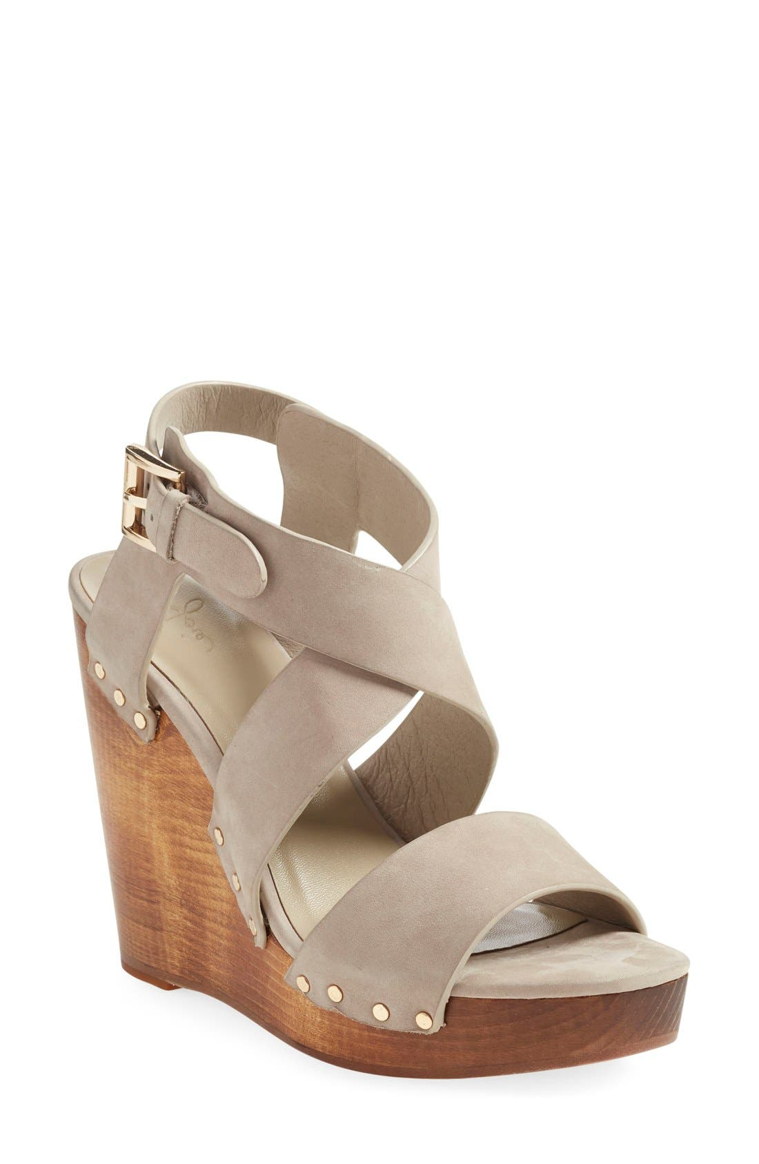 Alternate Image 1 Selected - Joie 'Cecilia' Wedge Sandal (Women)