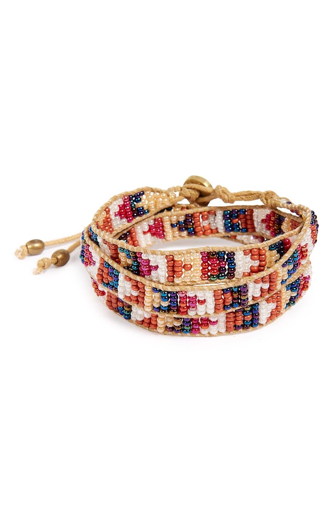 Main Image - Me to We 'Mambo' Bead Wrap Bracelet