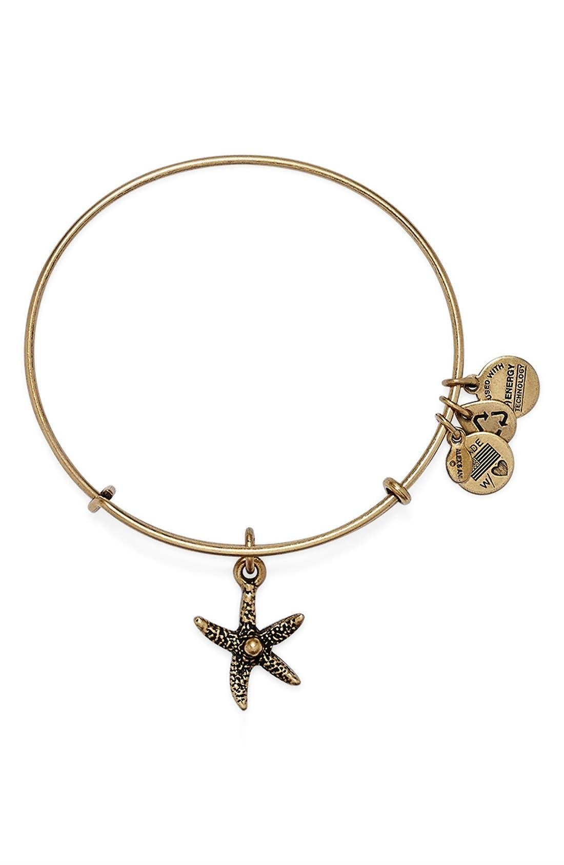 Alternate Image 1 Selected - Alex and Ani 'Starfish' Bangle Bracelet
