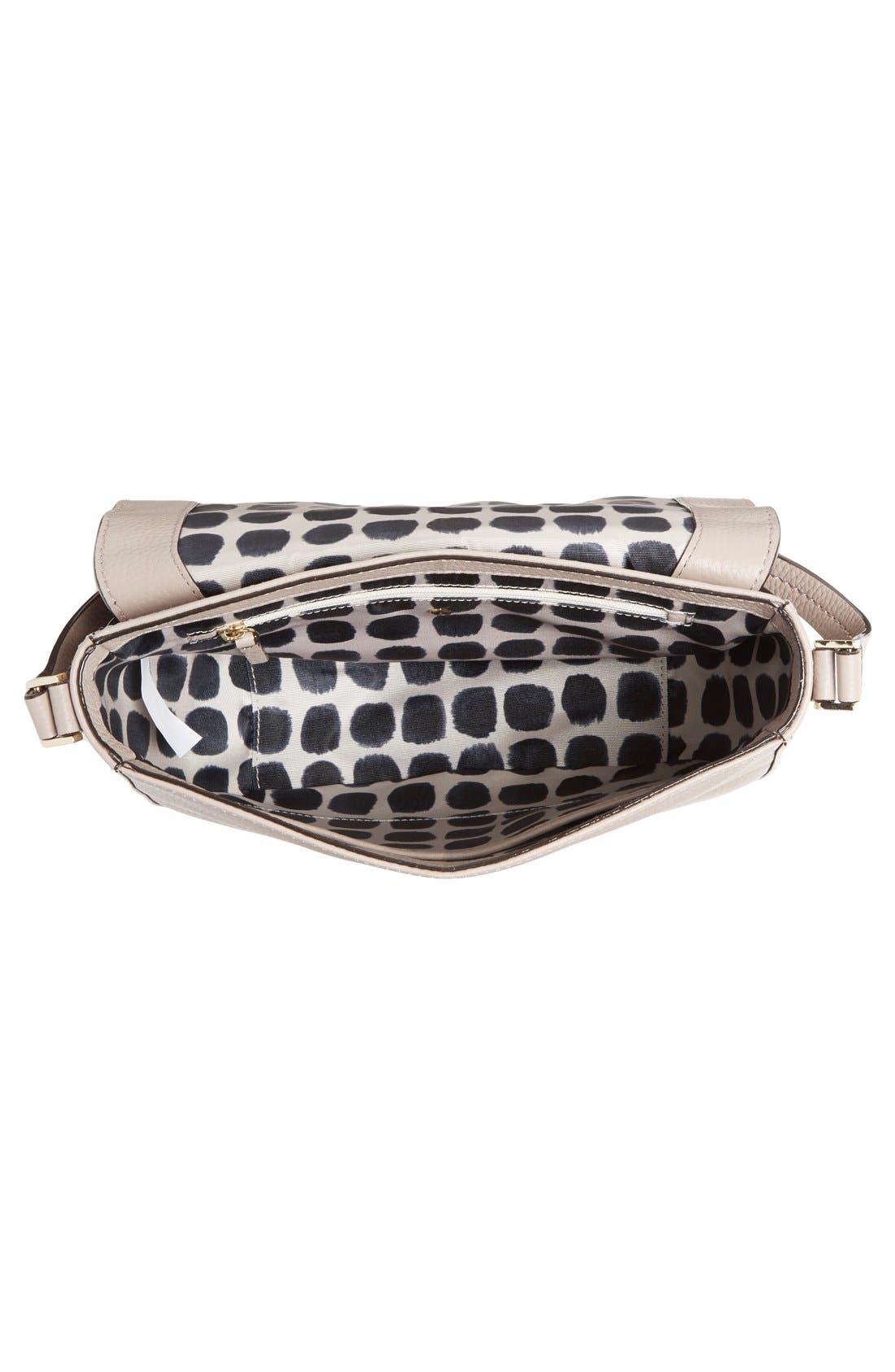 Alternate Image 4  - kate spade new york 'spencer court - lavinia' leather & suede crossbody bag