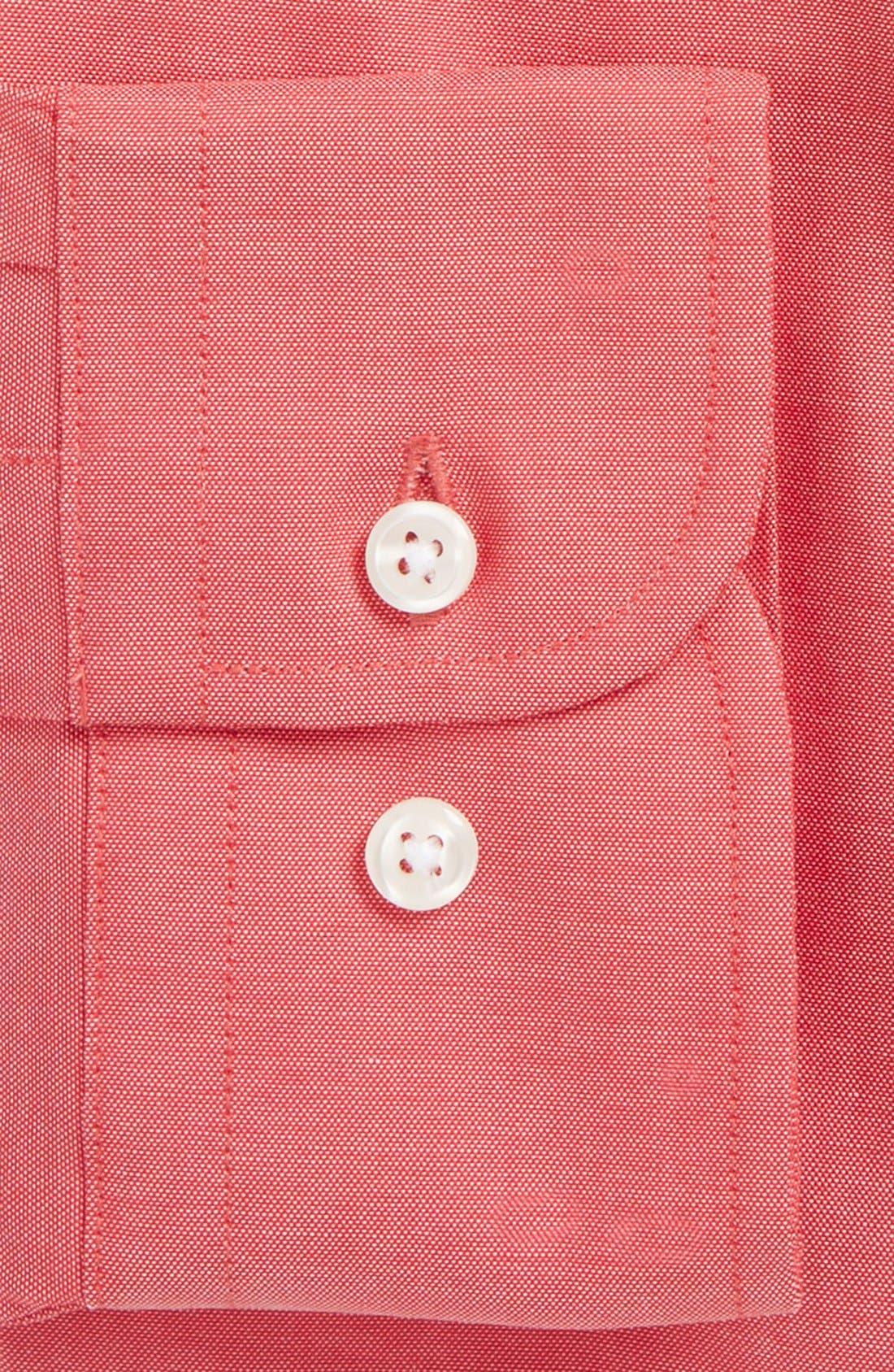 Alternate Image 2  - Nordstrom Men's Shop Extra Trim Fit Non-Iron Solid Dress Shirt (Regular, Big & Tall)