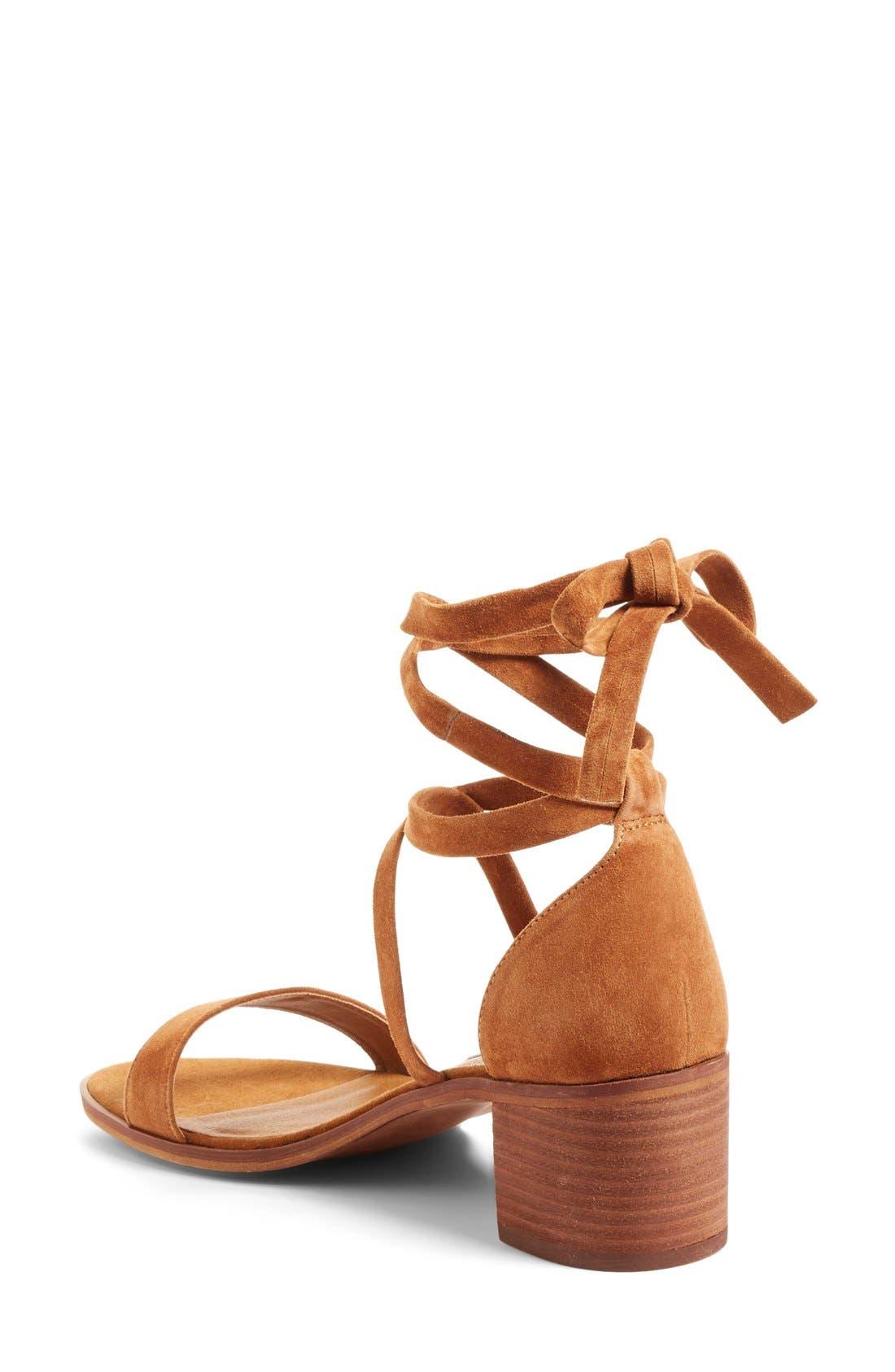 Alternate Image 2  - Steve Madden 'Rizzaa' Ankle Strap Sandal (Women)