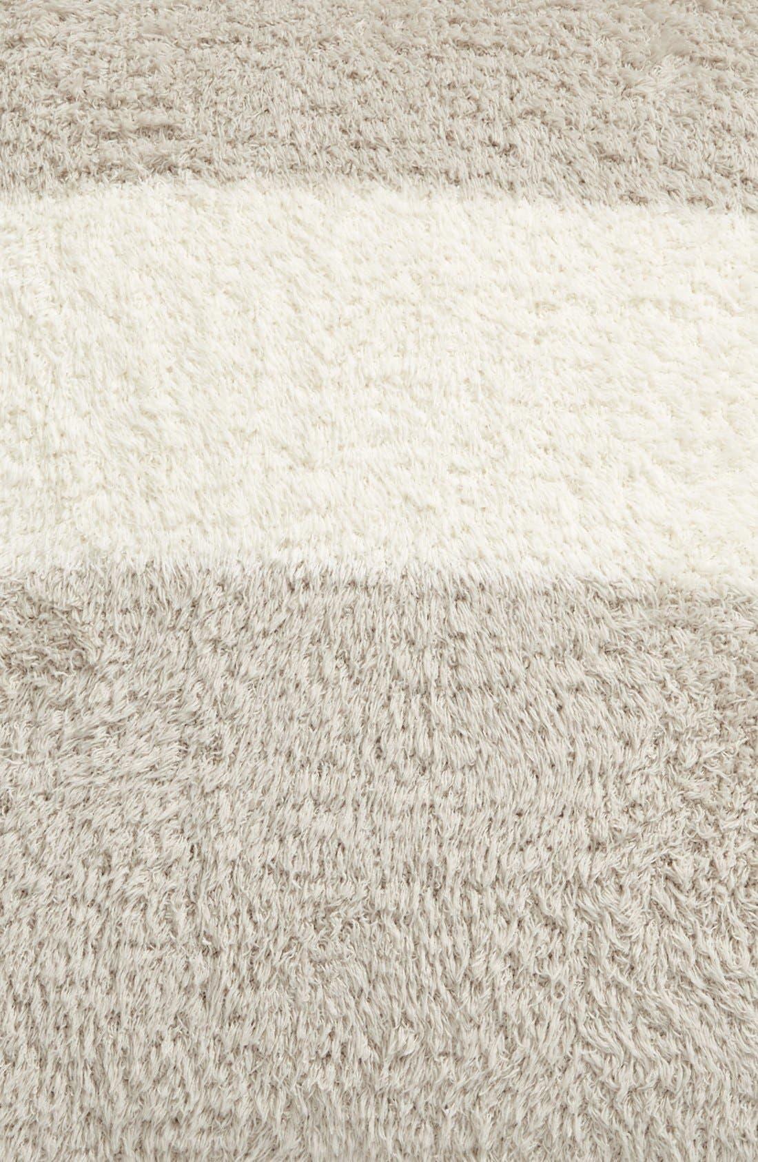Alternate Image 3  - Barefoot Dreams® CozyChic® Stripe Pillow