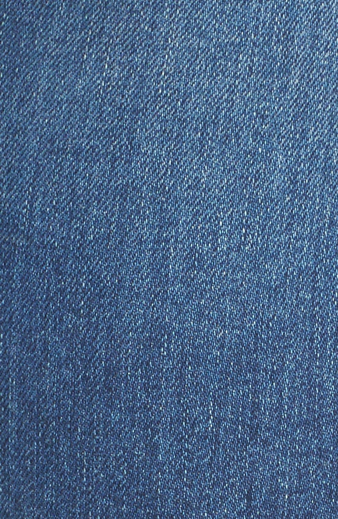 Alternate Image 5  - Hudson Jeans 'Ginny' Rolled Crop Jeans (Point Break)