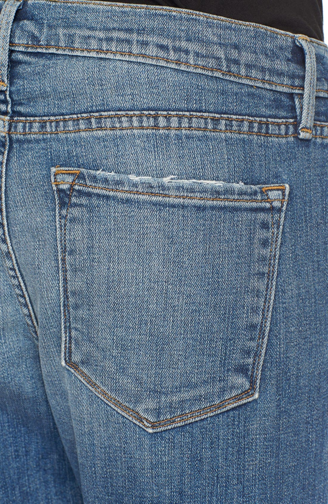 Alternate Image 4  - FRAME Le Garçon Boyfriend Jeans (Copper)