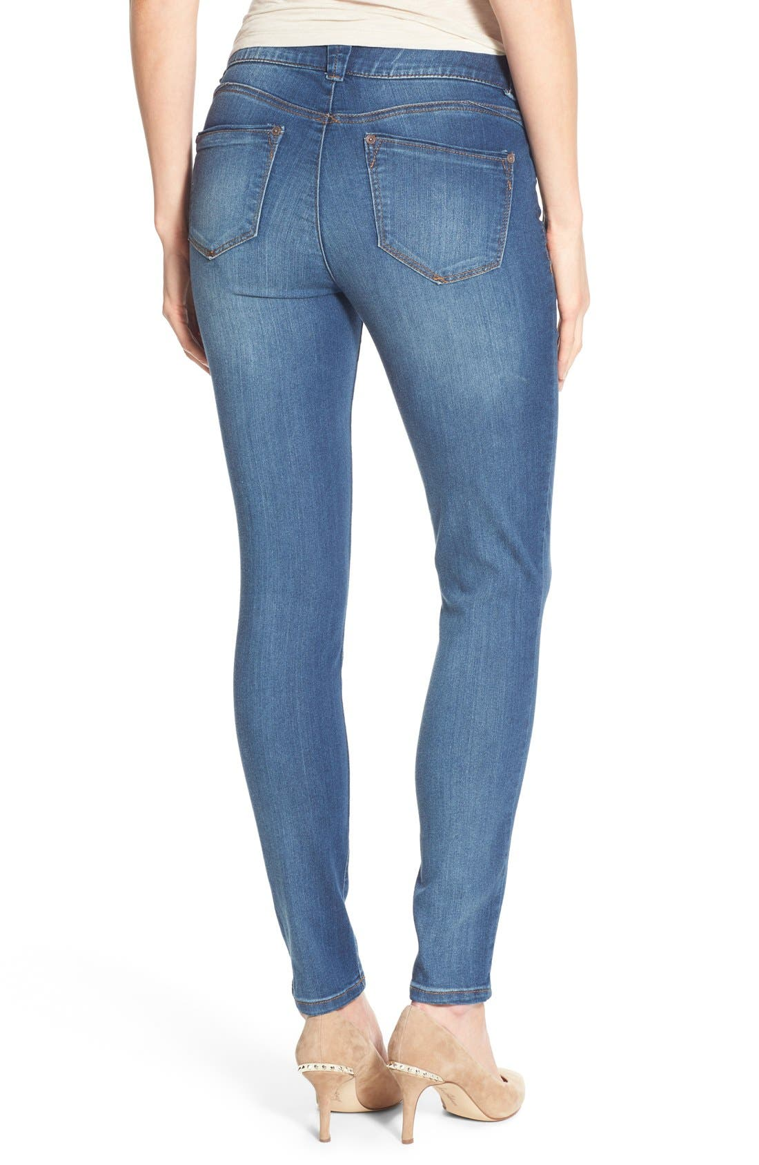 Alternate Image 2  - Wit & Wisdom Ab-solution Stretch Skinny Jeans (Nordstrom Exclusive)