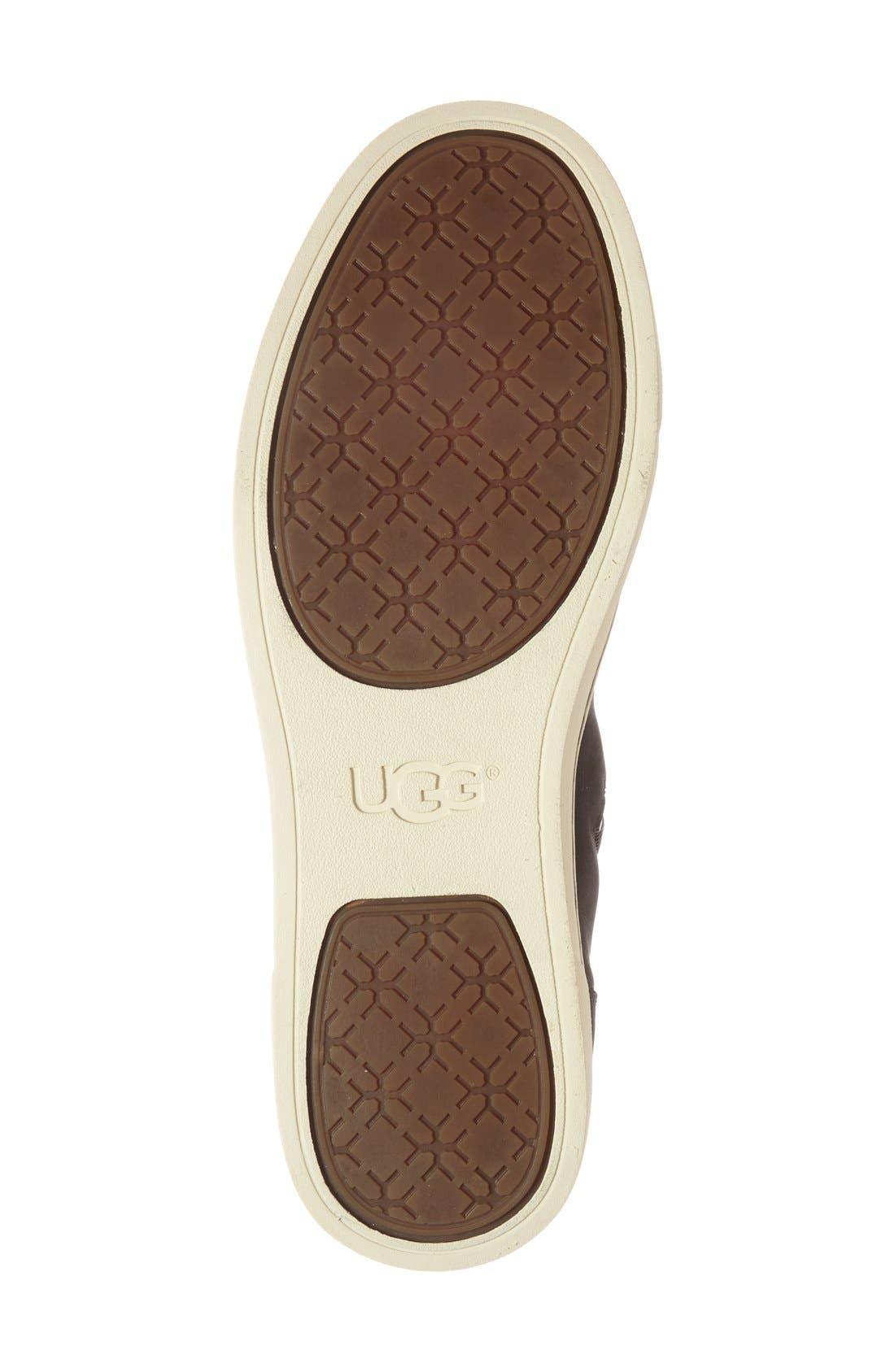 Alternate Image 4  - UGG® 'Gradie' High Top Sneaker (Women)