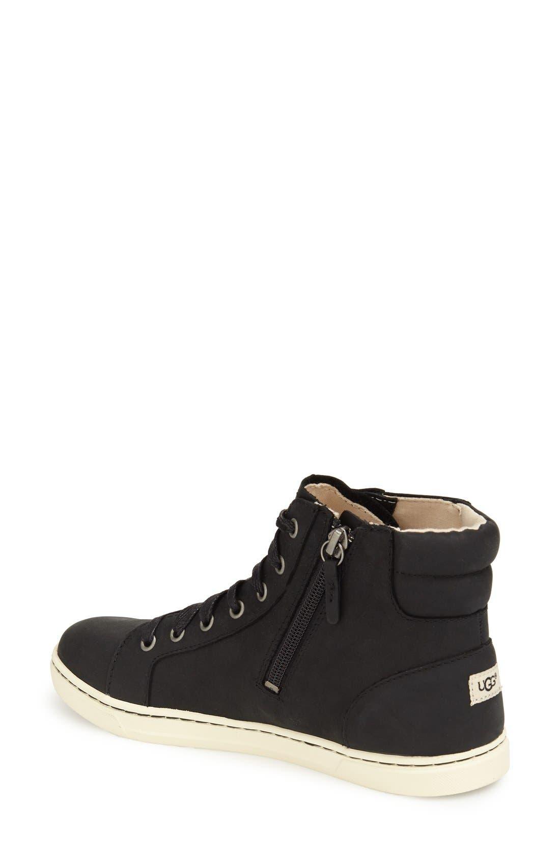 Alternate Image 2  - UGG® 'Gradie' High Top Sneaker (Women)