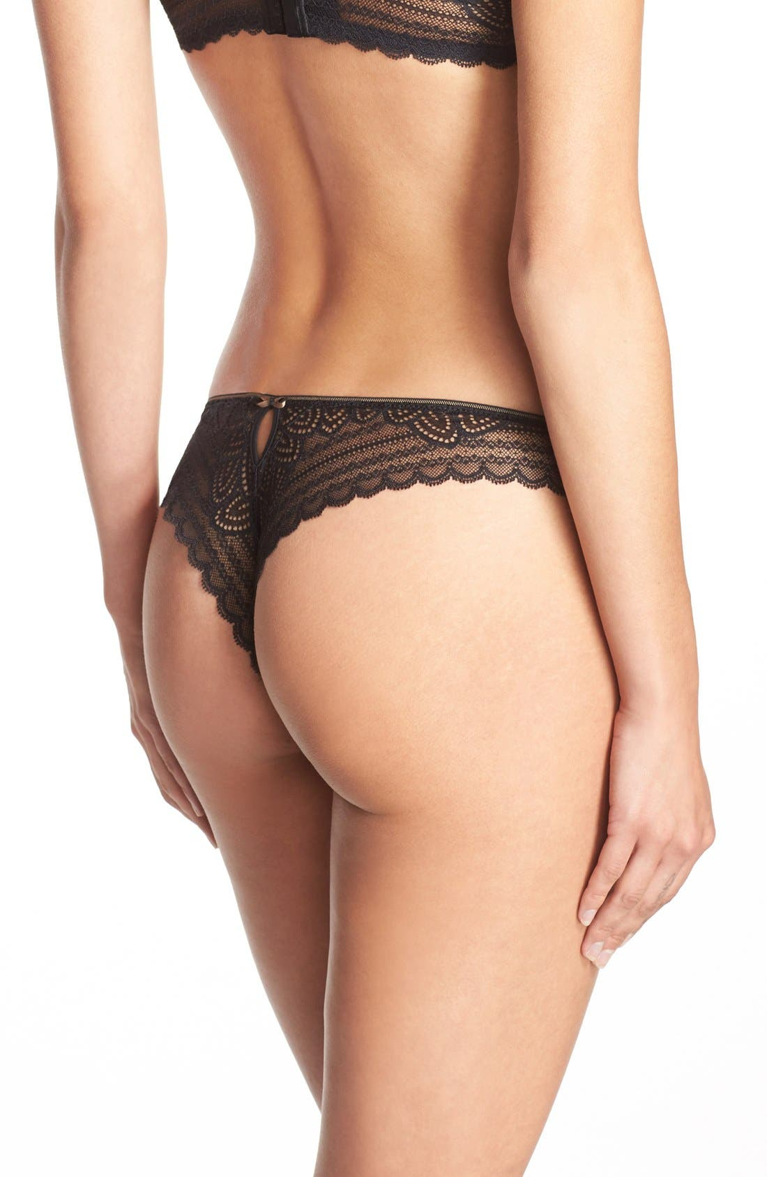 Alternate Image 2  - Chantelle Intimates 'Merci' Tanga Thong